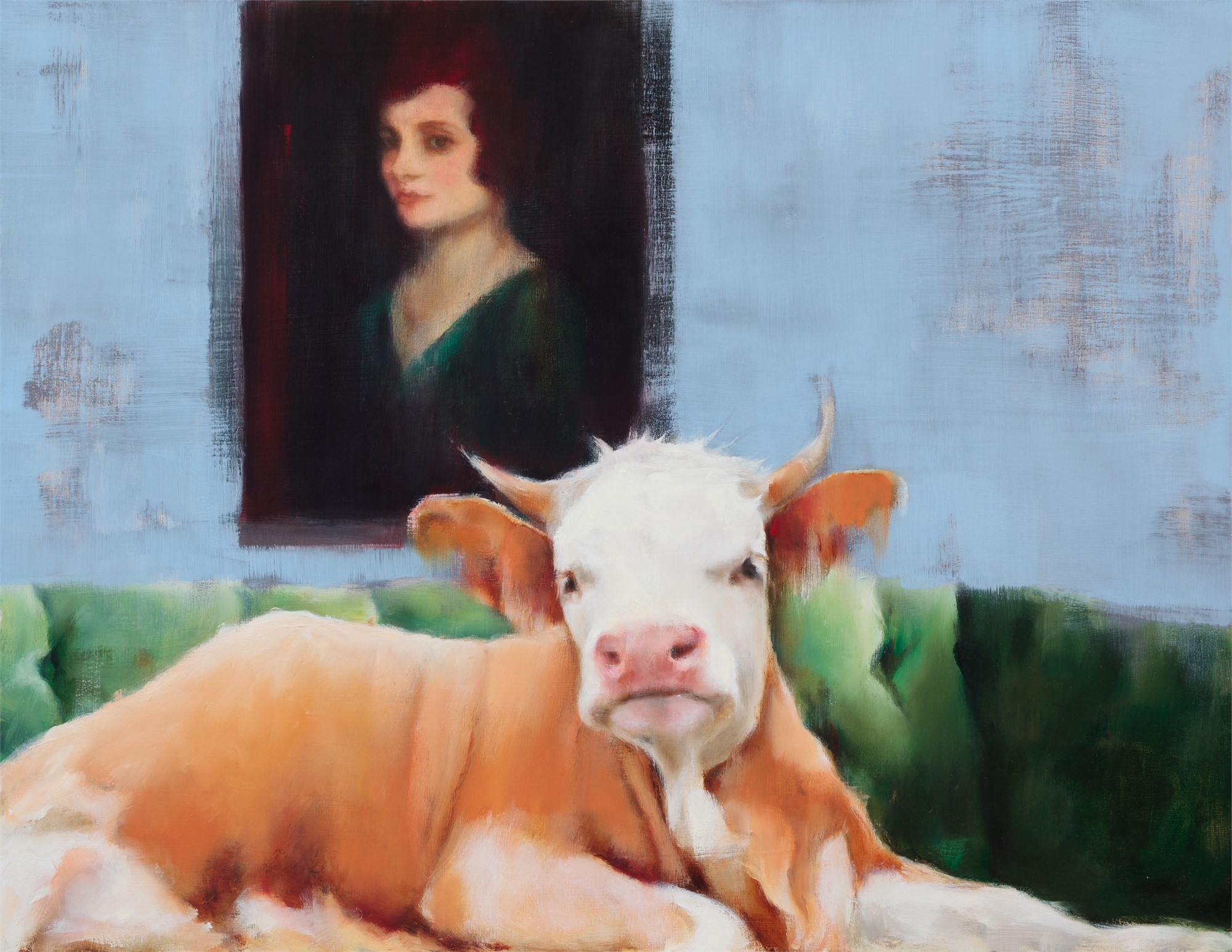 Portrait of a Lady by Elsa Sroka