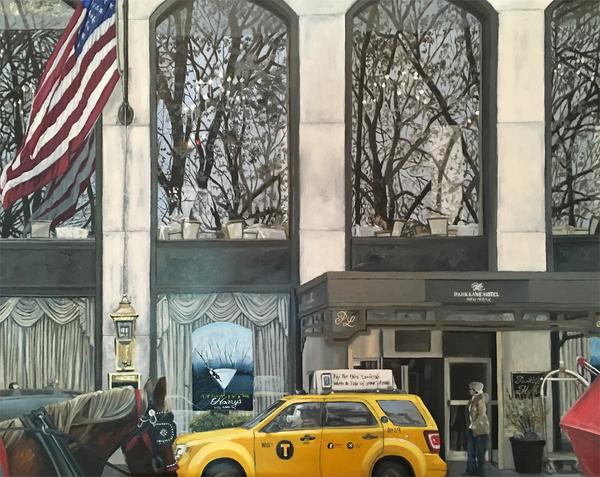 The Parklane Hotel, NYC by Sharon Pomales