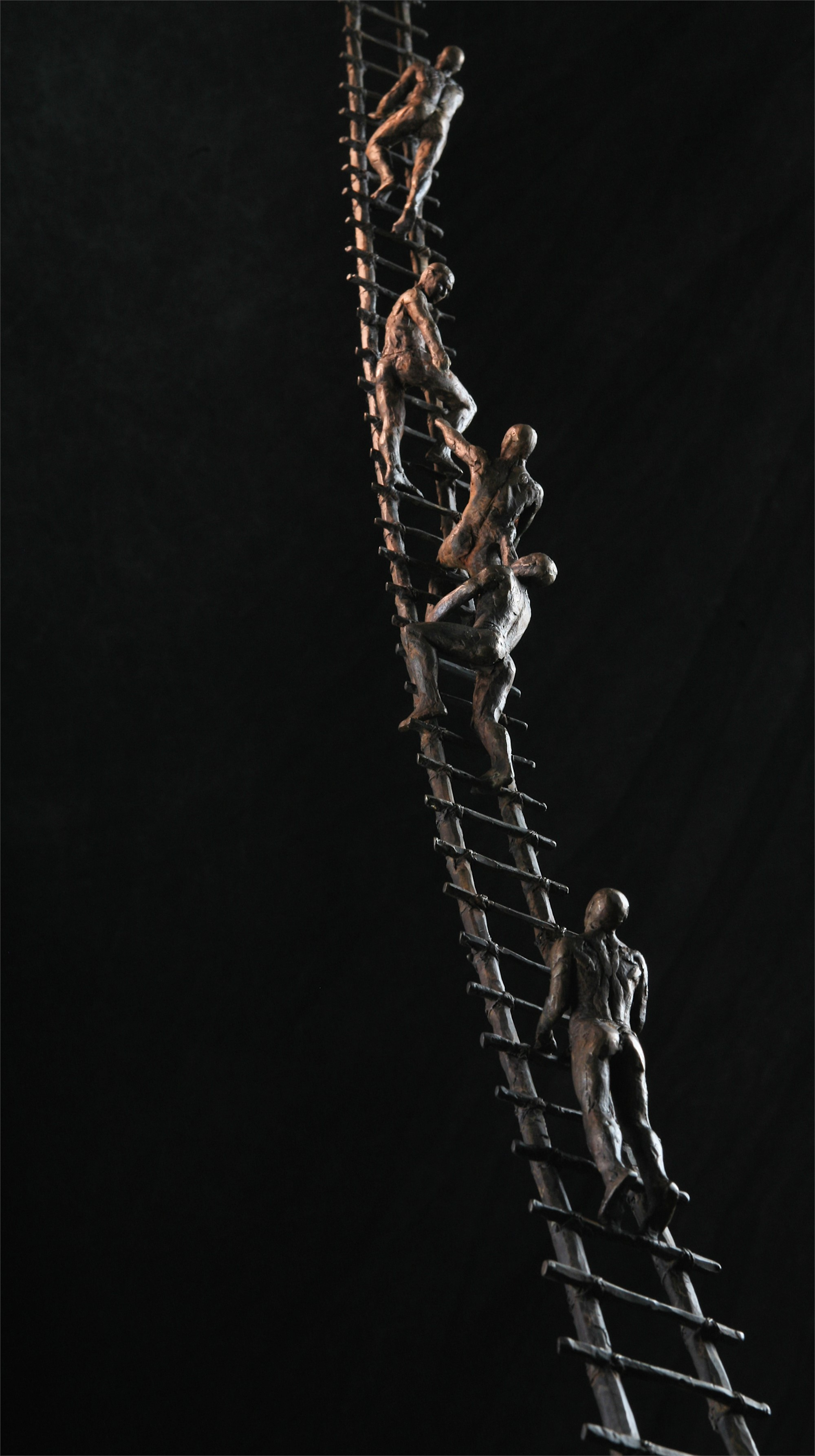 Climbers: The Ladder II by Bill Starke