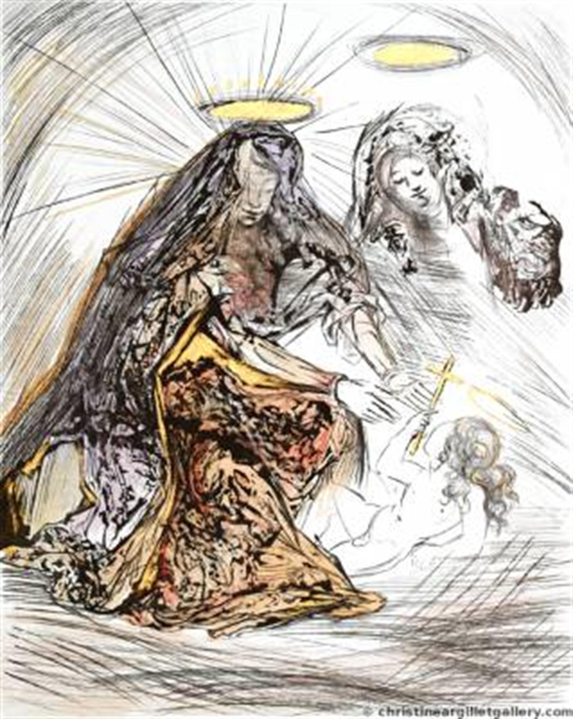 Sainte Anne by Salvador Dali