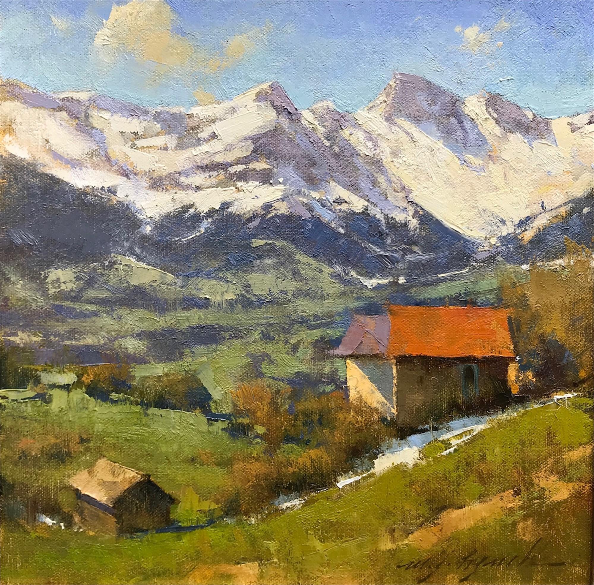 Alpine Spring by Michael J Lynch