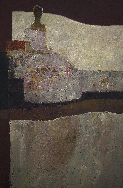 Seated Figure by Dan McCaw