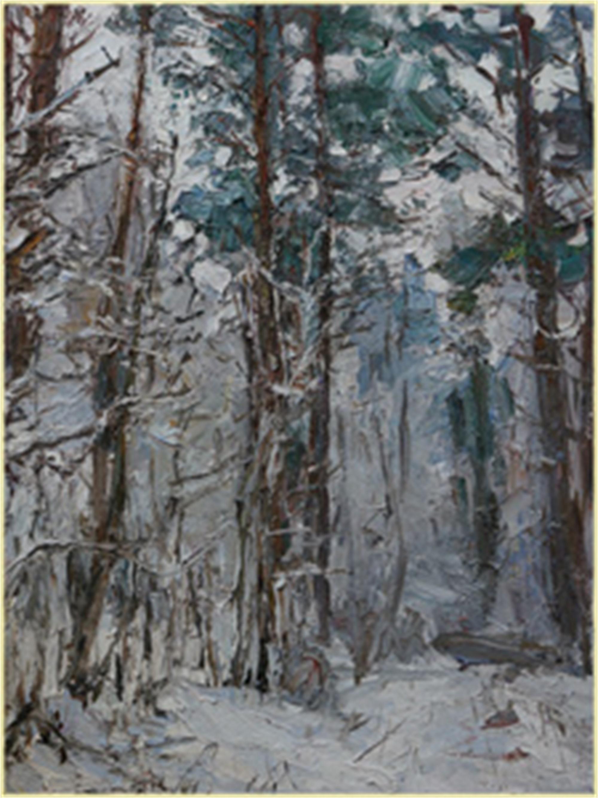 Heavy Snow by Ulrich Gleiter