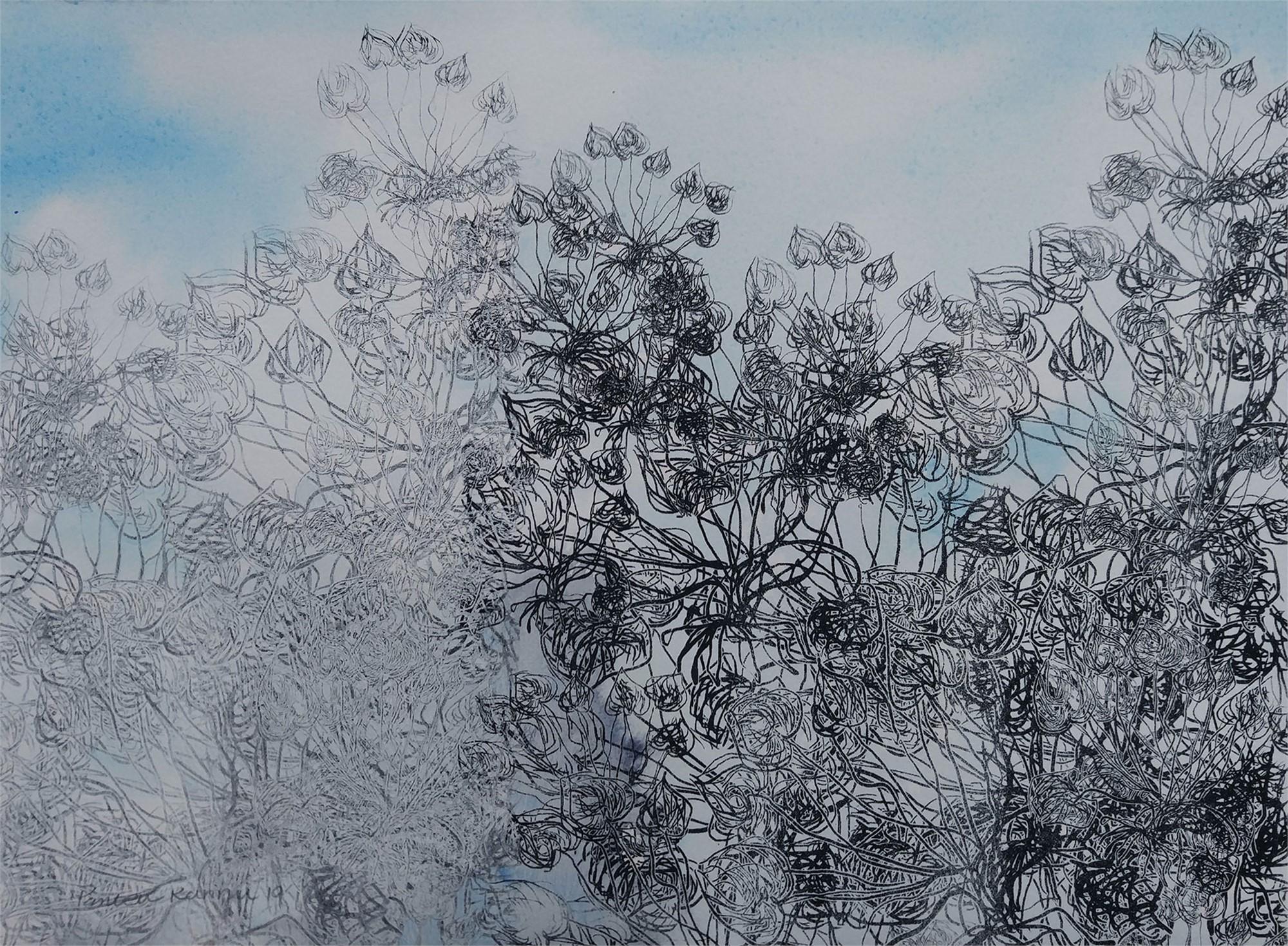 Blue Viola i by Pantea Kharimi