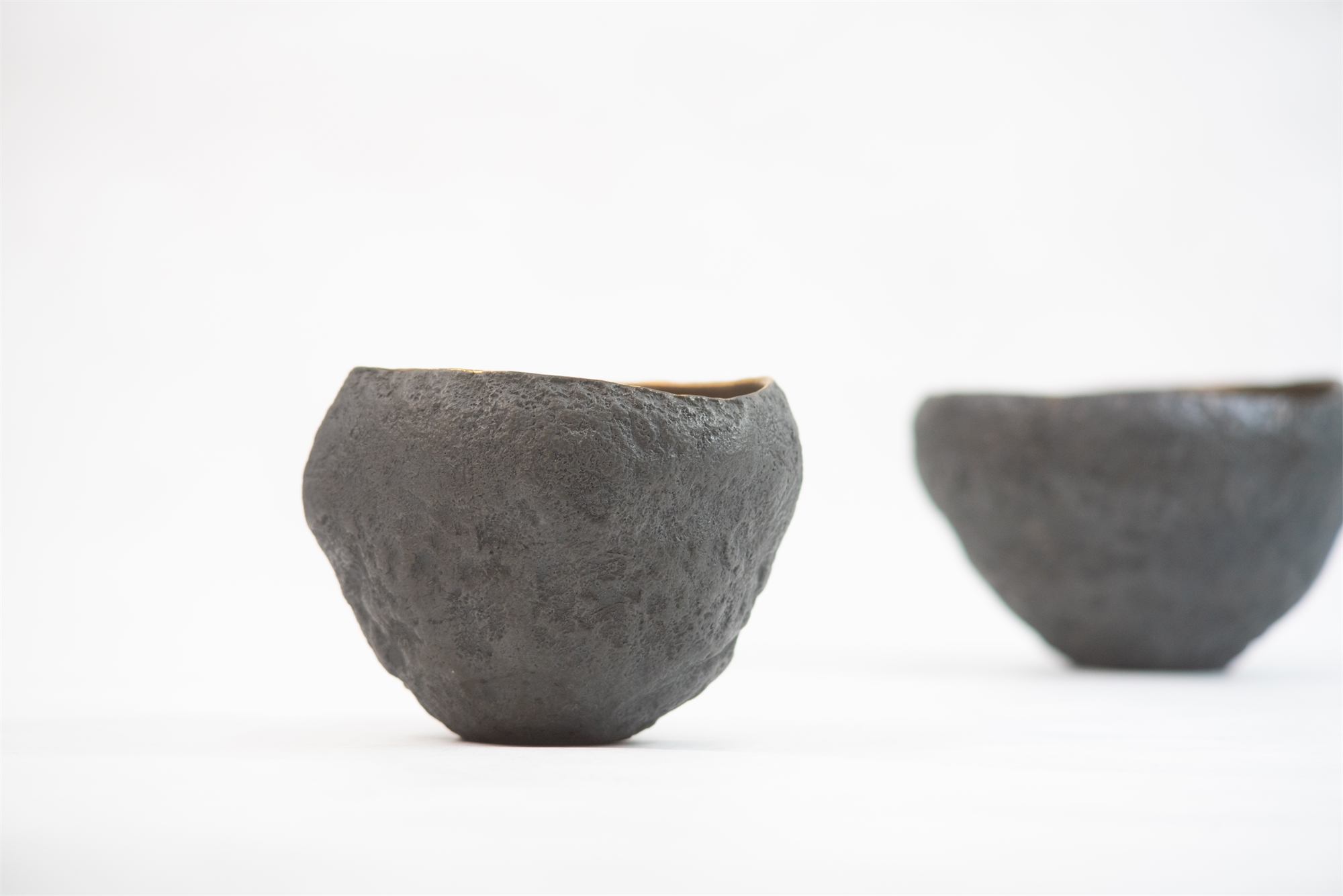 Small vessels with bronze