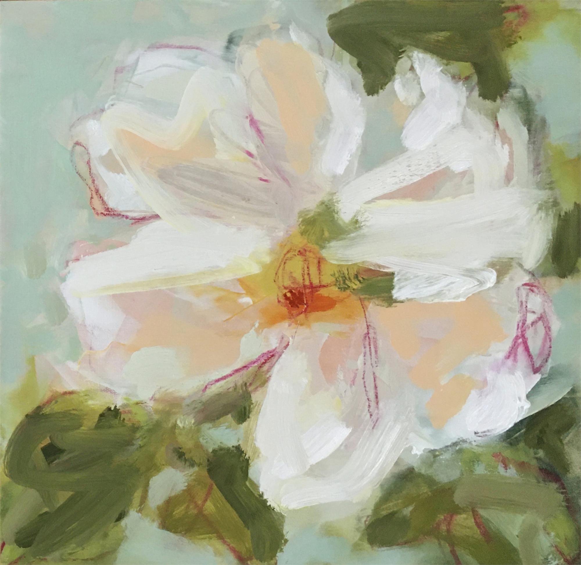 Tea Rose II by Lynn Johnson