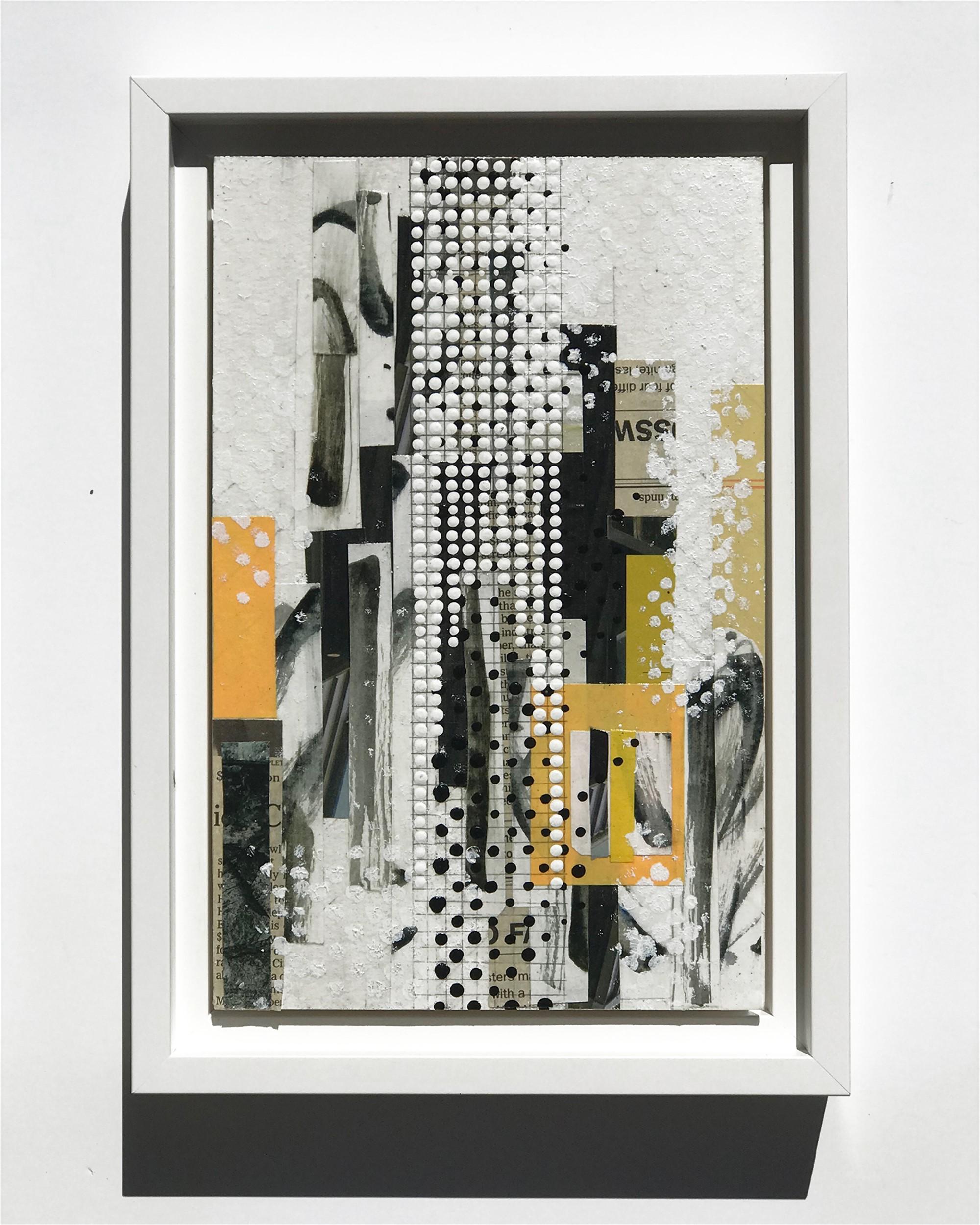 Erected, Orange, Study No.8 by Nina Tichava