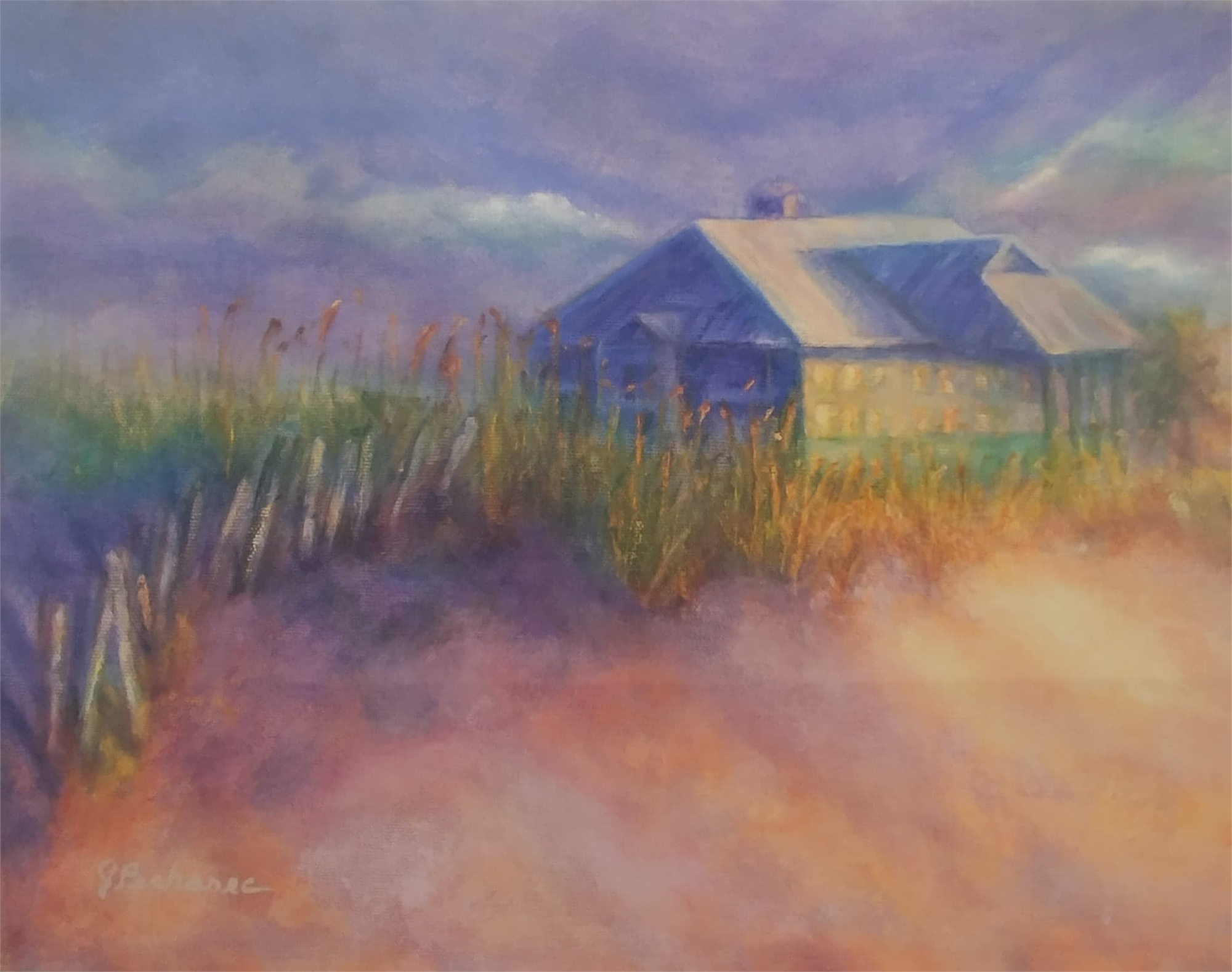 Florida Beach House by Joan Pechanec (McMinnville, OR)