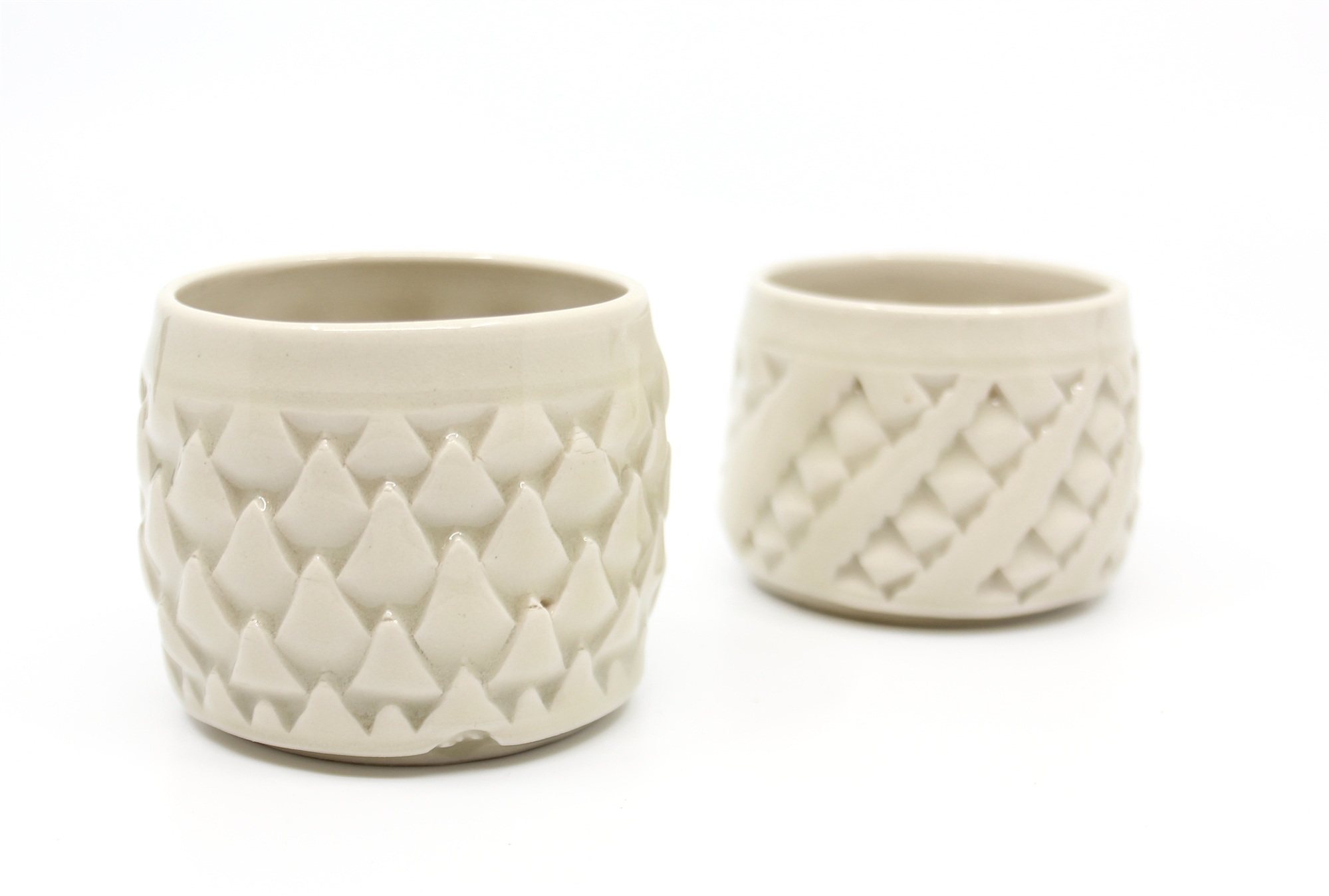 White Cup Tiny by Clay Hicks