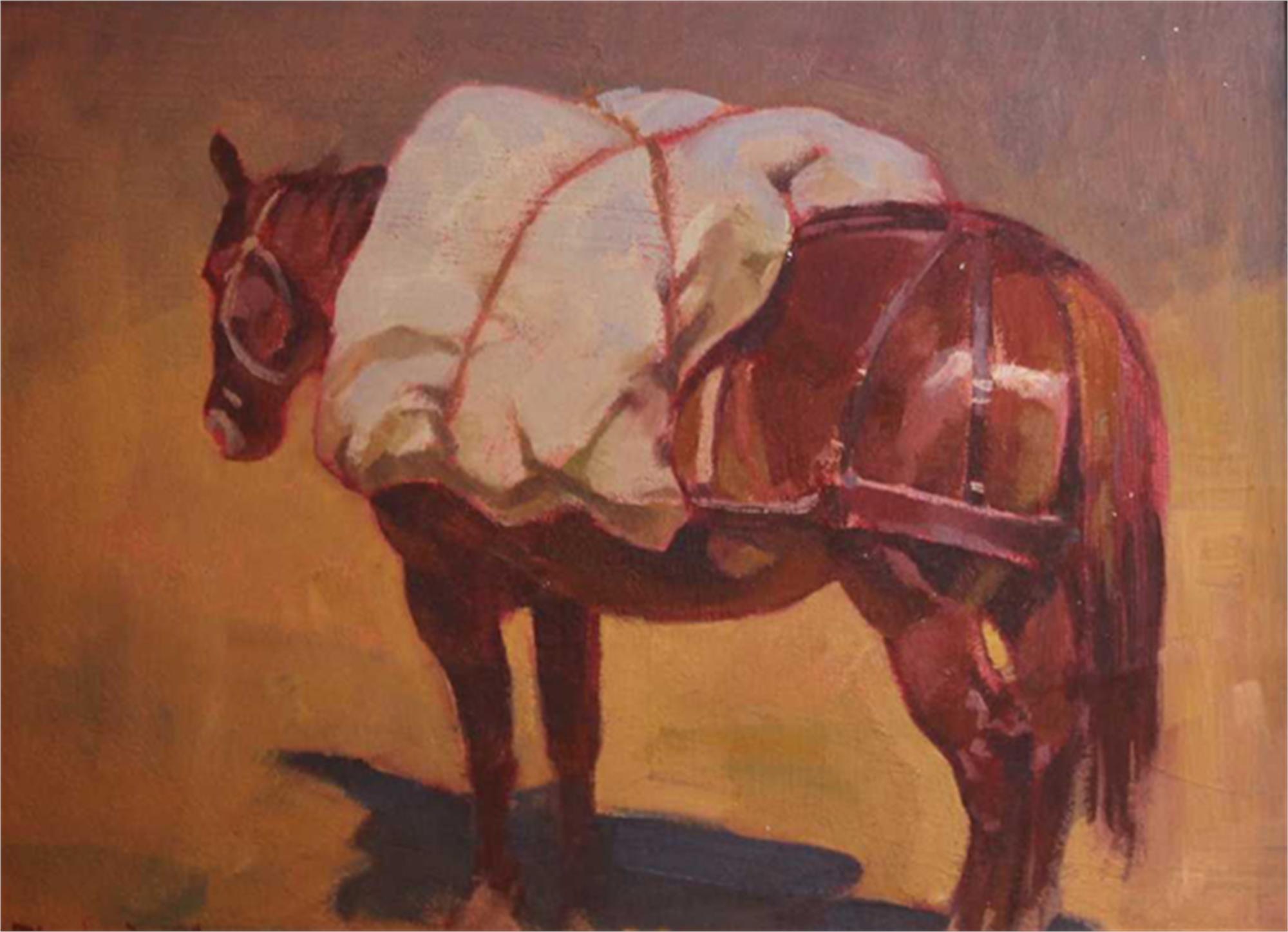 Packhorse Study by Charles Dayton