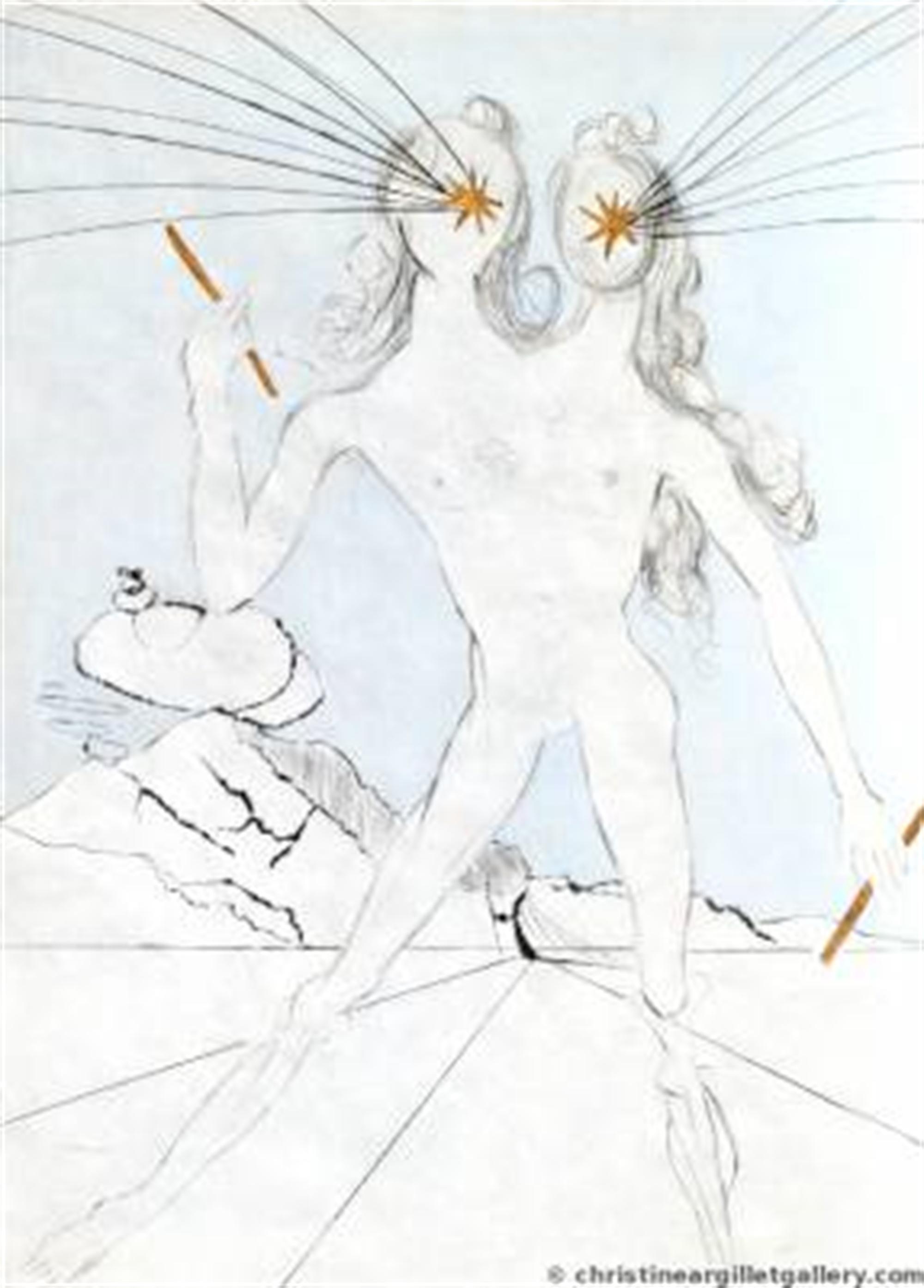 """Ronsard """"Bicephalous"""" by Salvador Dali"""