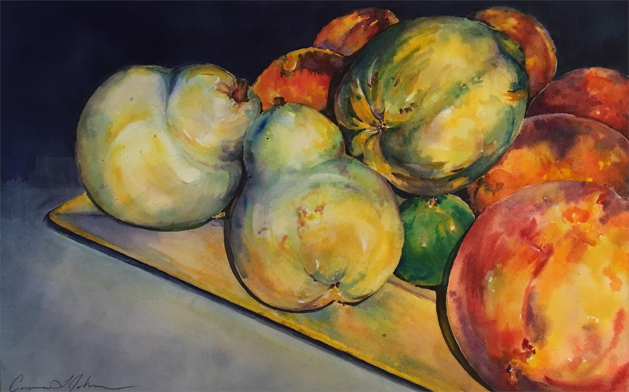 Peach Pear Peace by Connie Johnson