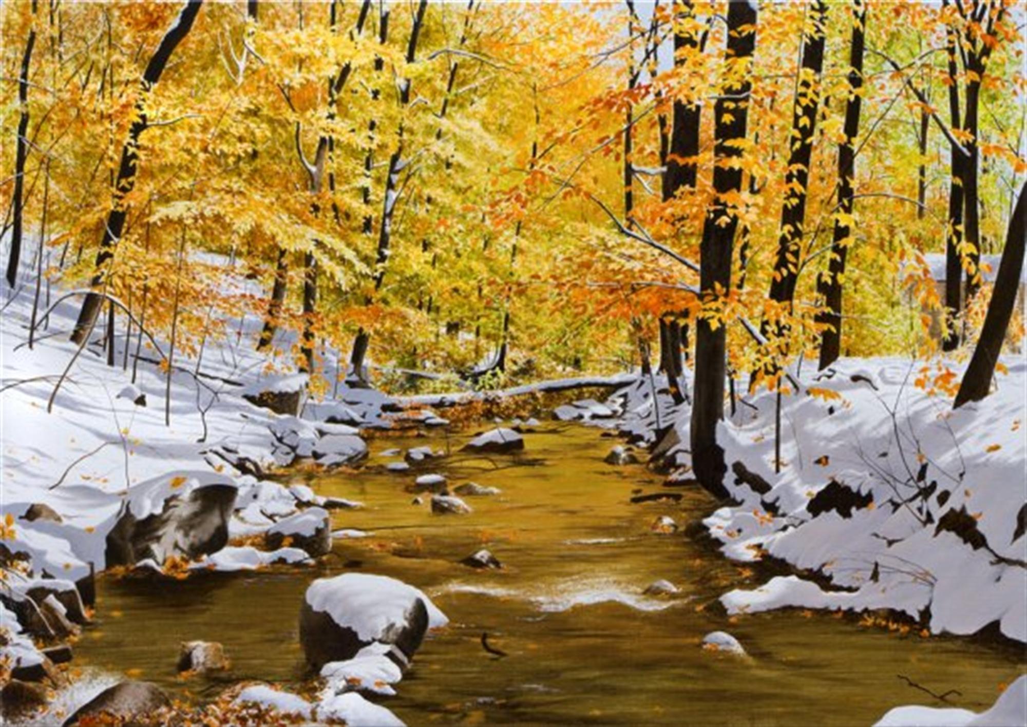 October Snowfall by Alexander Volkov