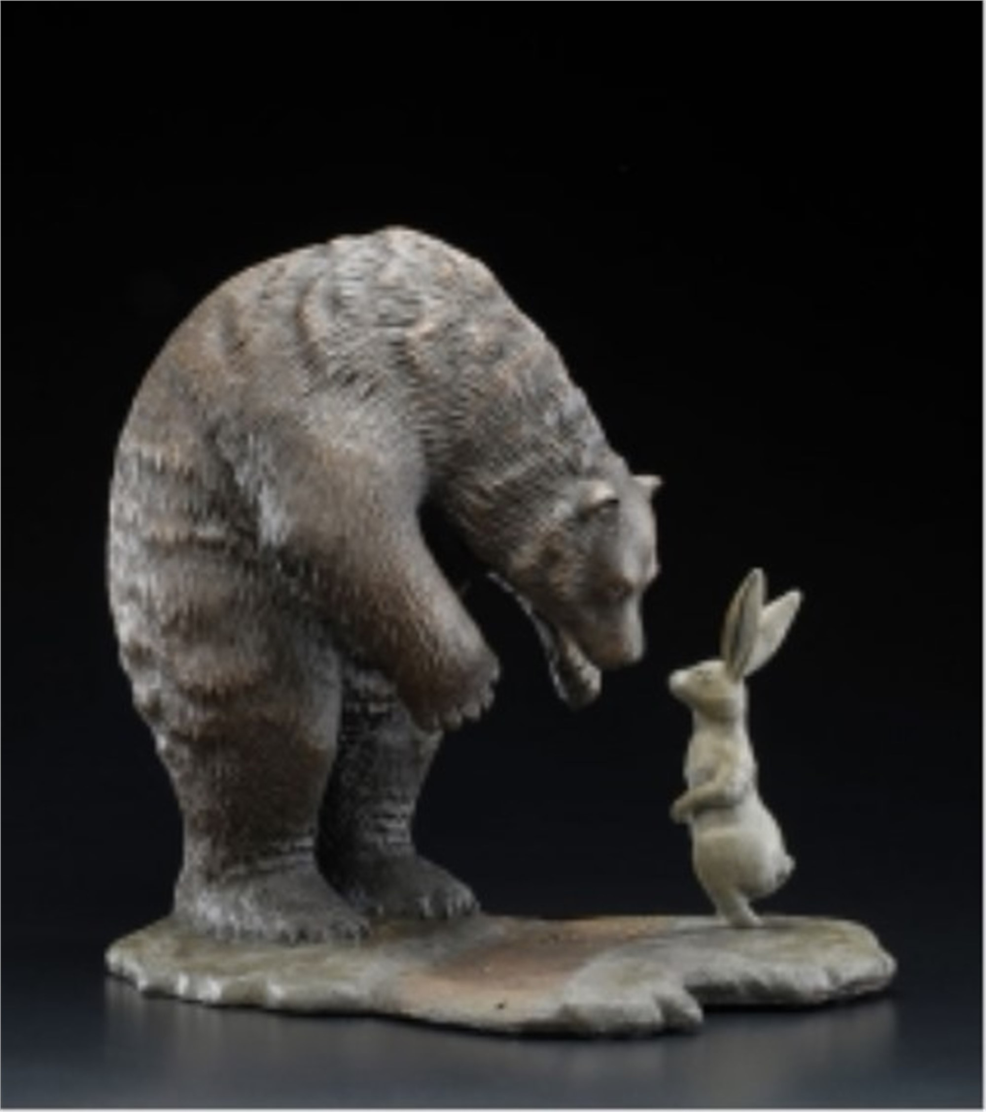 Exchange, The (Small Sculpture) by Robert Bissell