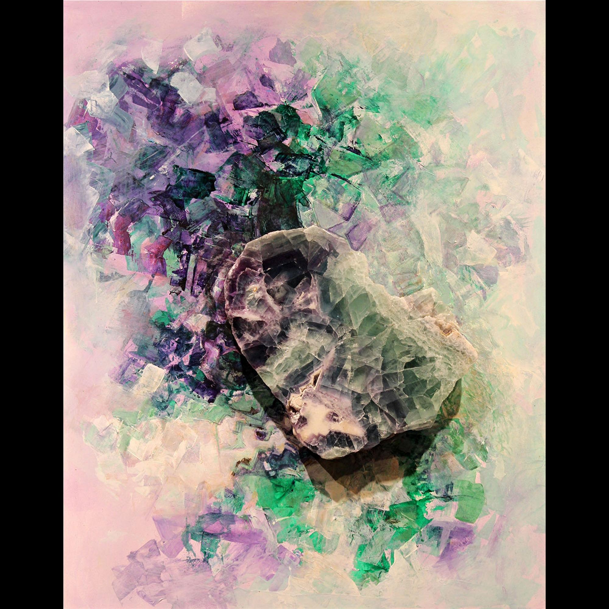 Wild Violets by Marlys Mallét & Michael Redhawk