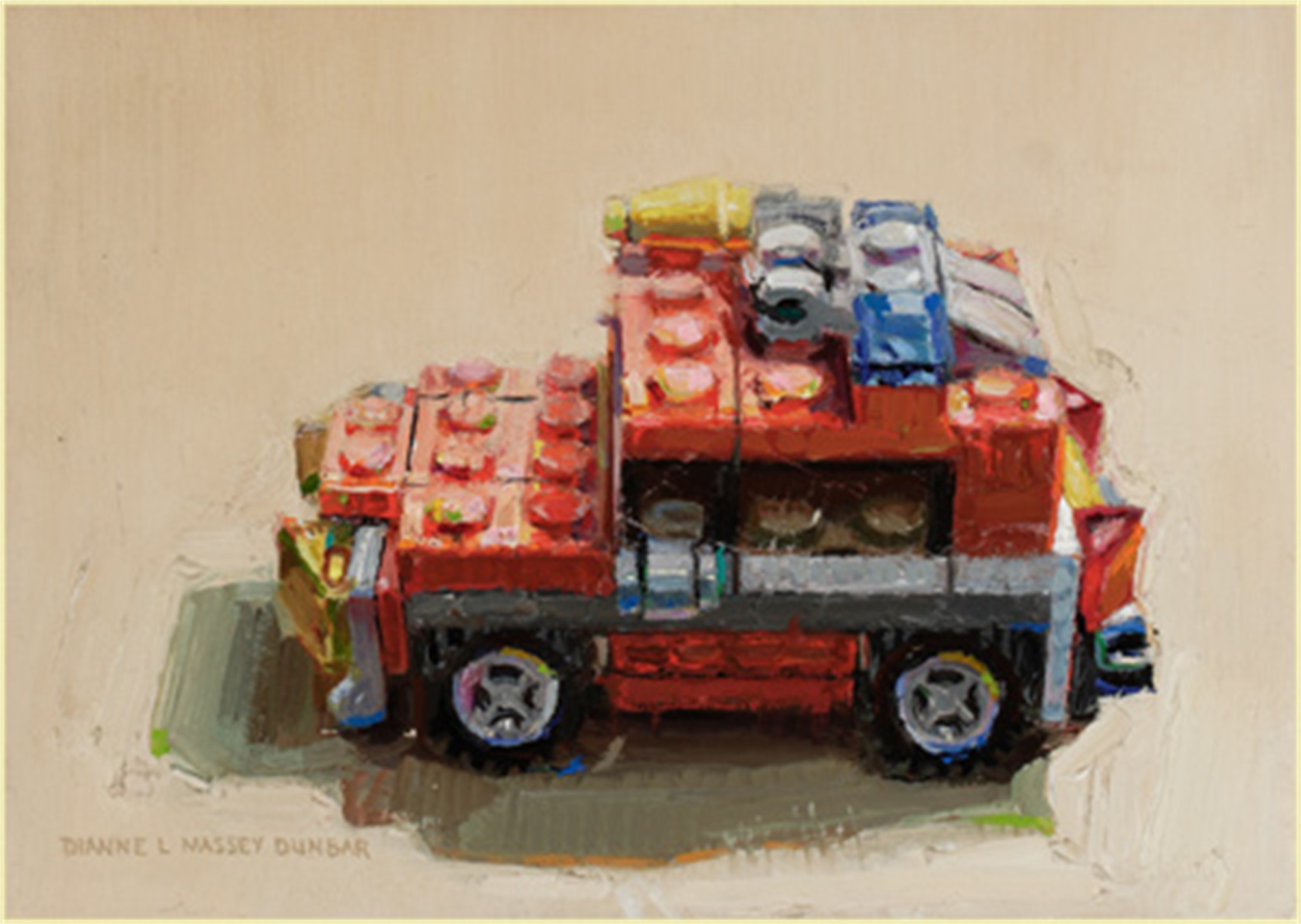 Jeep by Dianne L Massey Dunbar