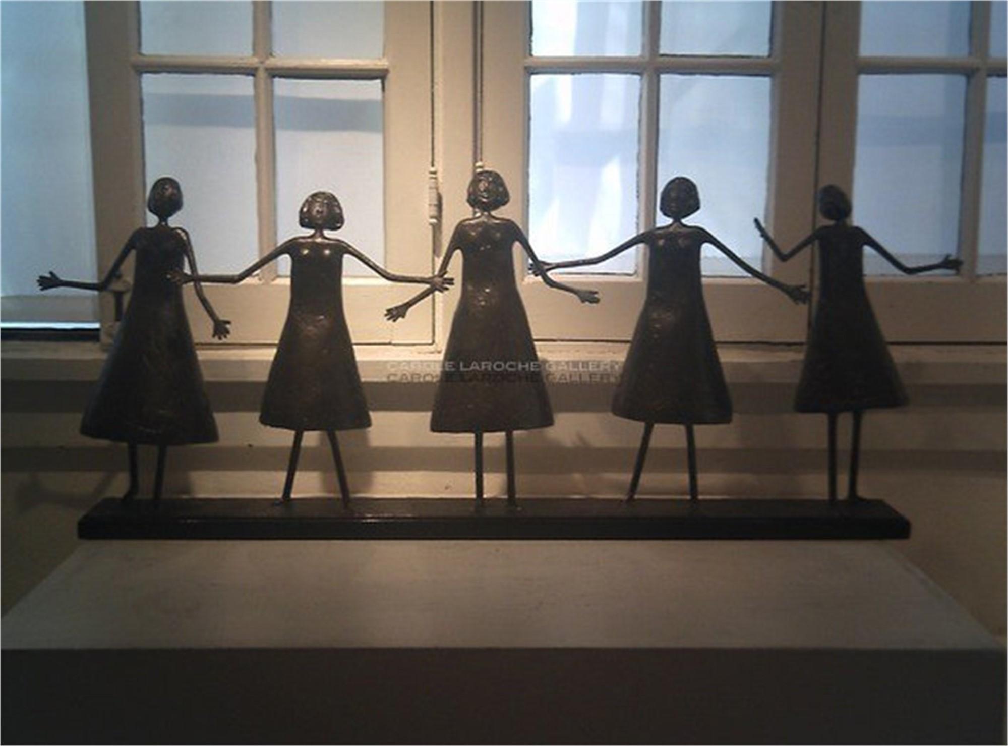 Five Dancing Women I (Custom Order)  by Allen Wynn