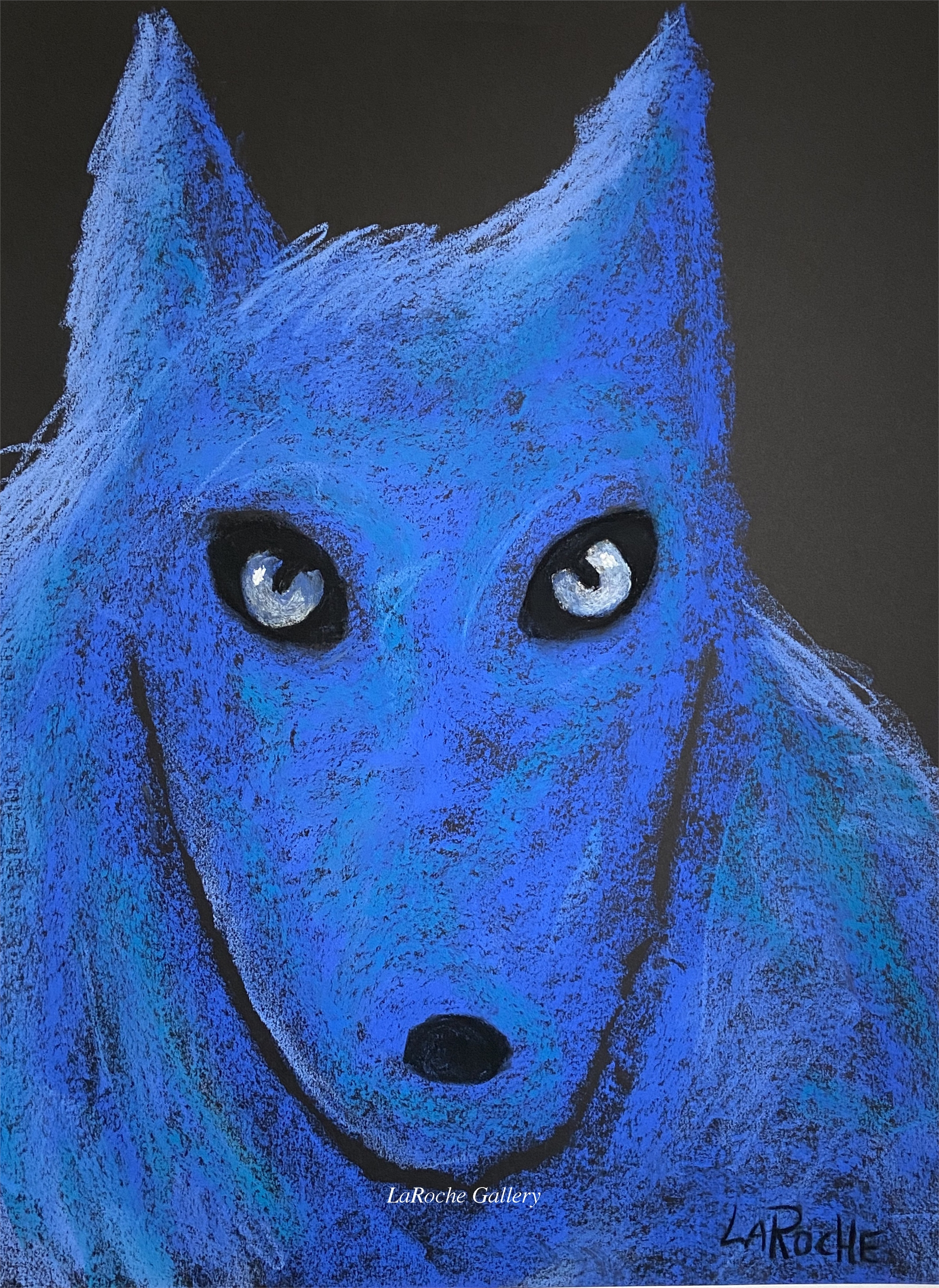 THE PACK: BLUE WOLF by Carole LaRoche