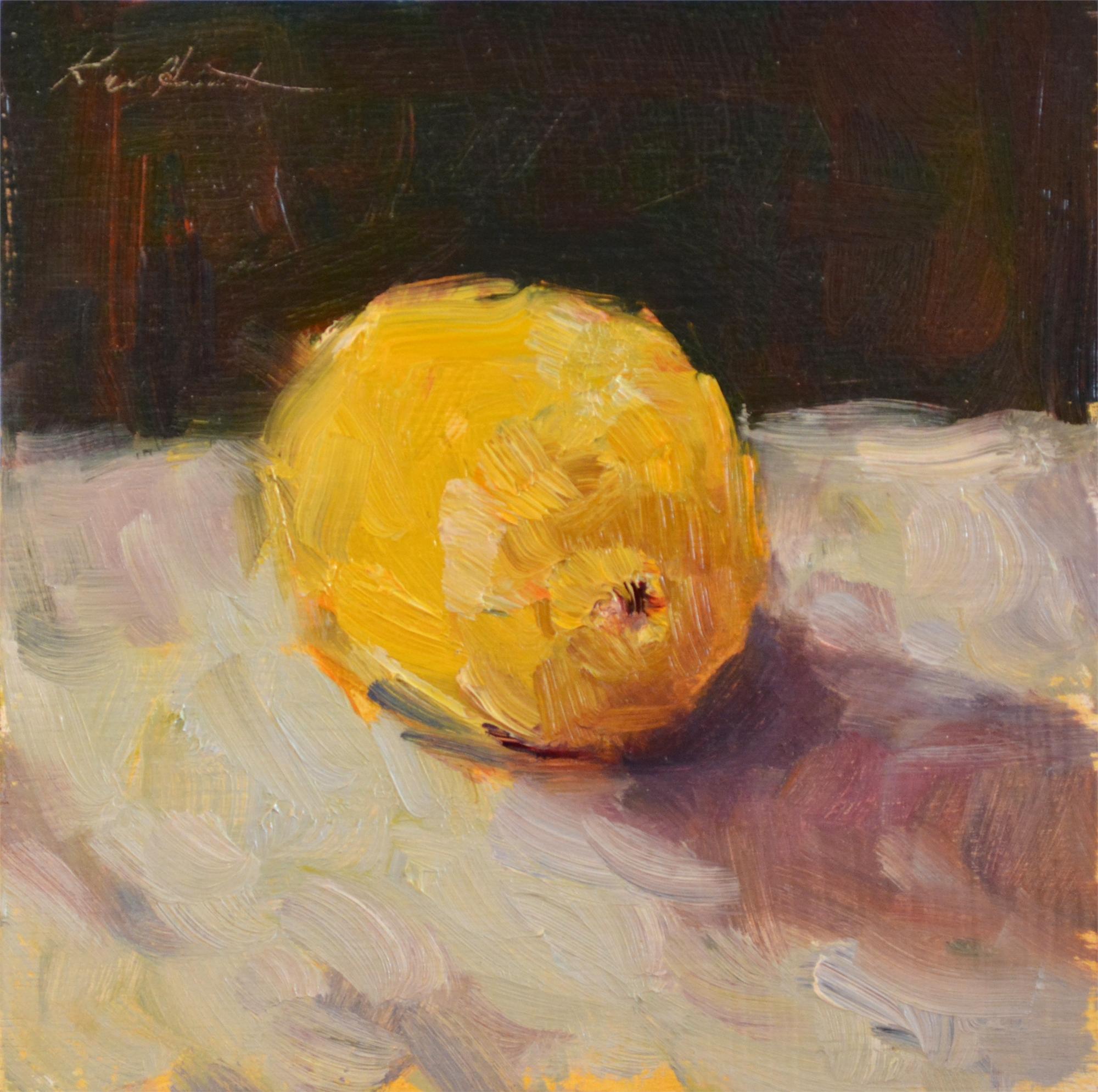 Lone Lemon II by Karen Hewitt Hagan