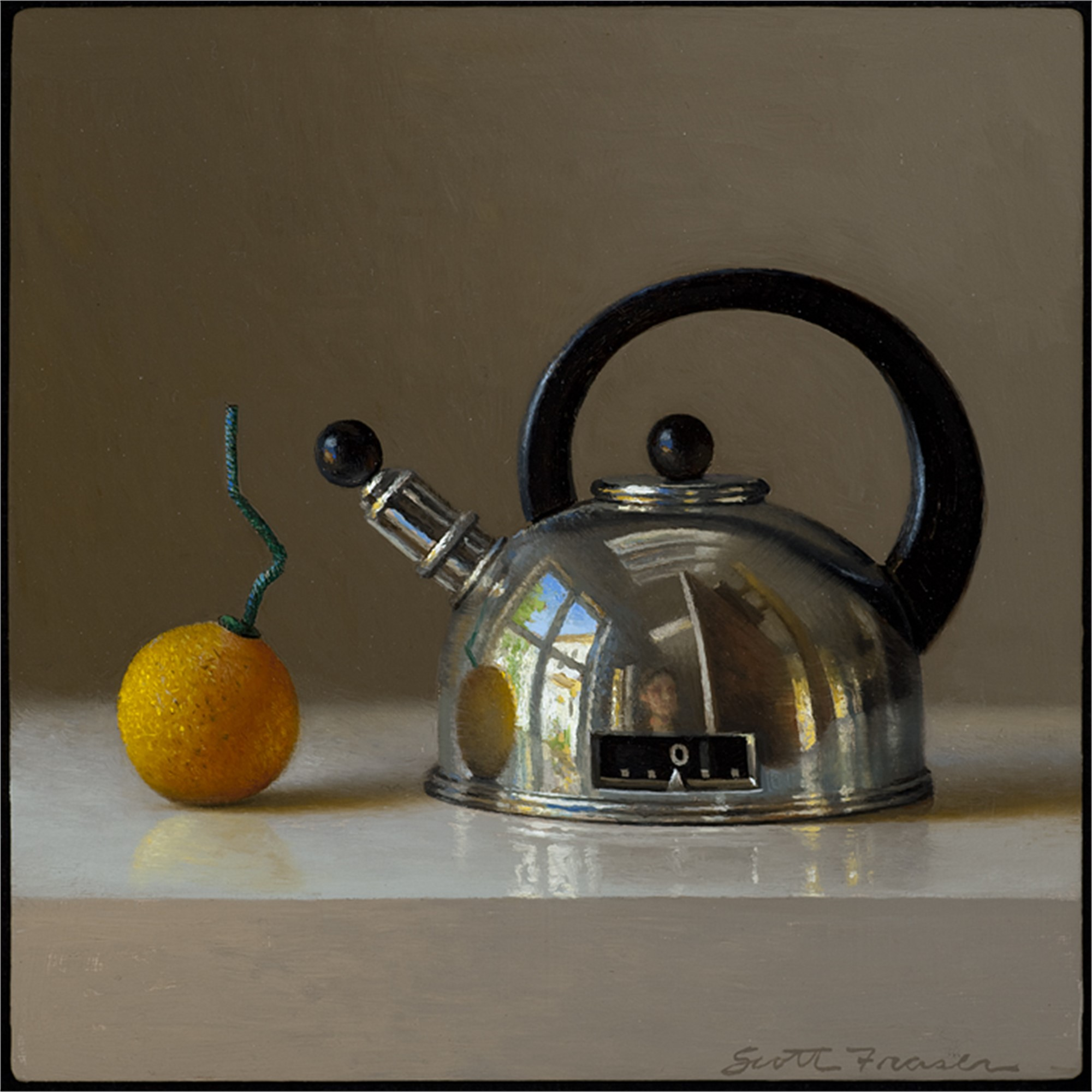 Teapot with Smokebomb by Scott Fraser