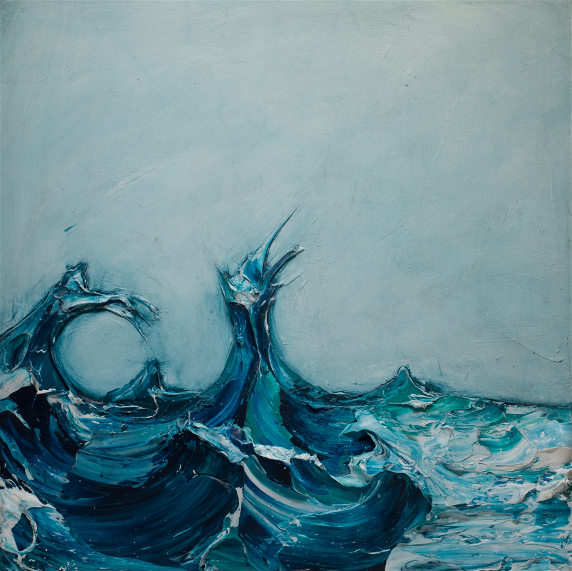 WAVE WV48X48-2018-278 by Justin Gaffrey