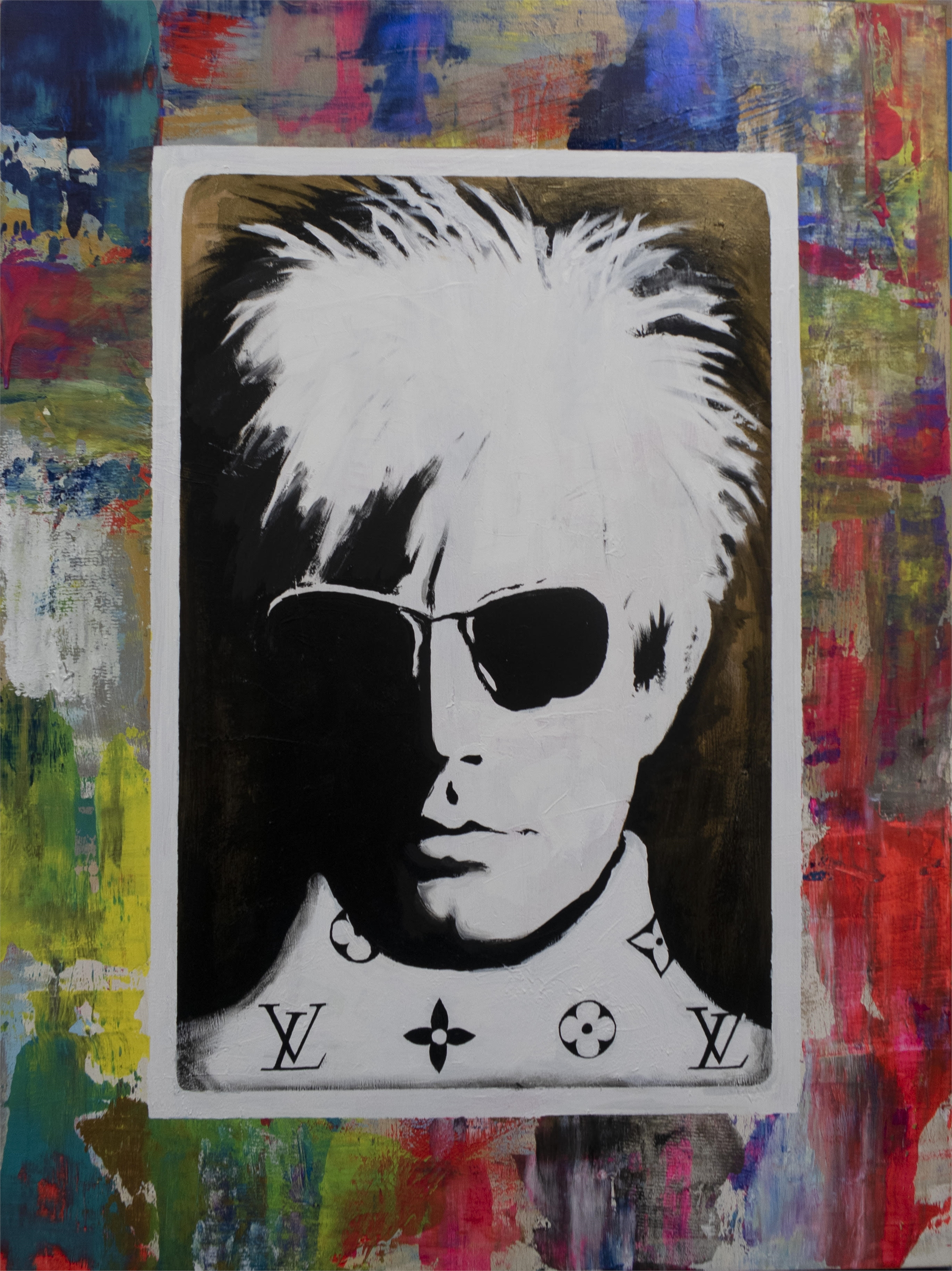 Warhol With Shades by Daniel Maltzman