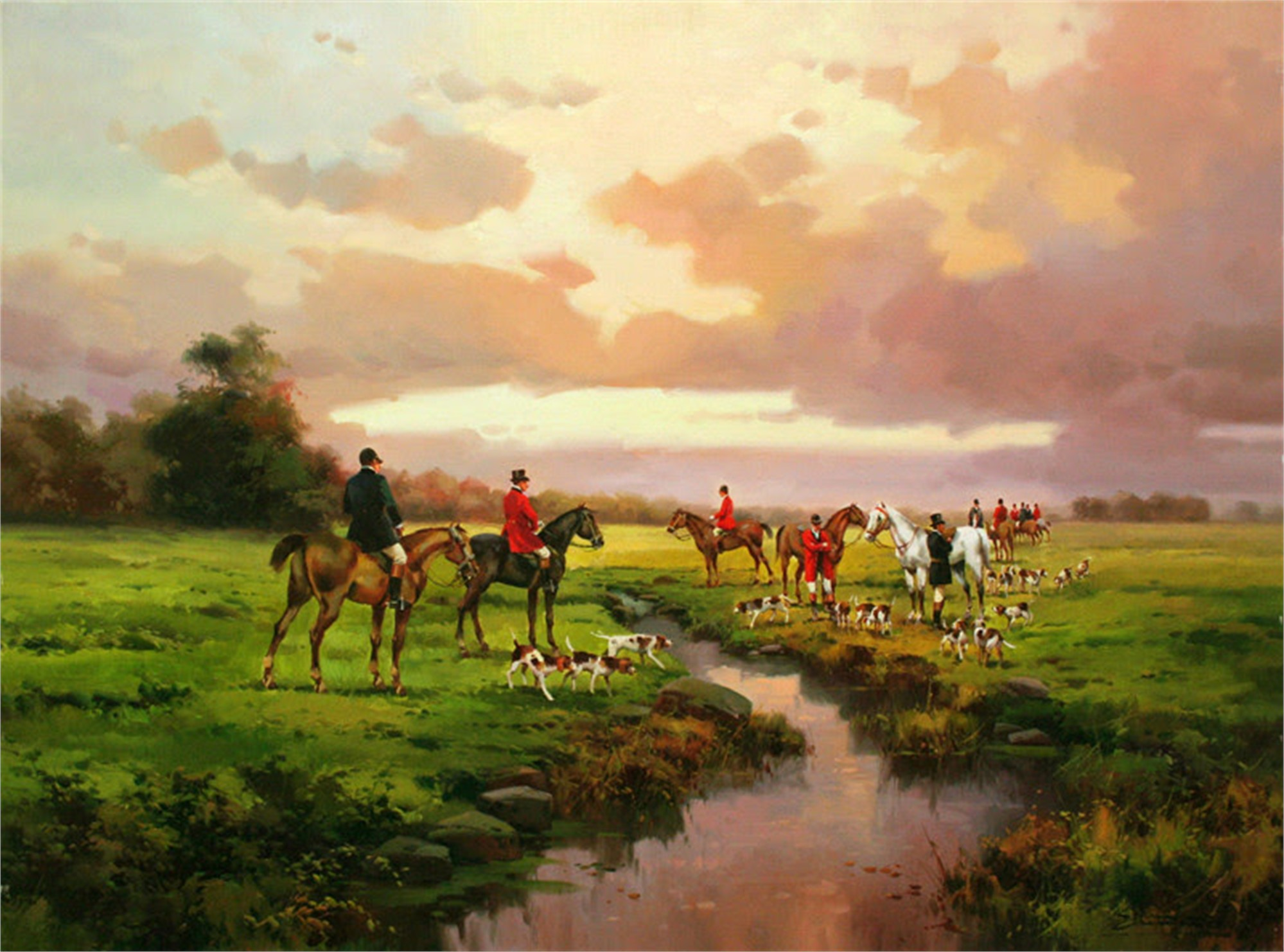 Monteria (Hunting) by Salvador Caballero