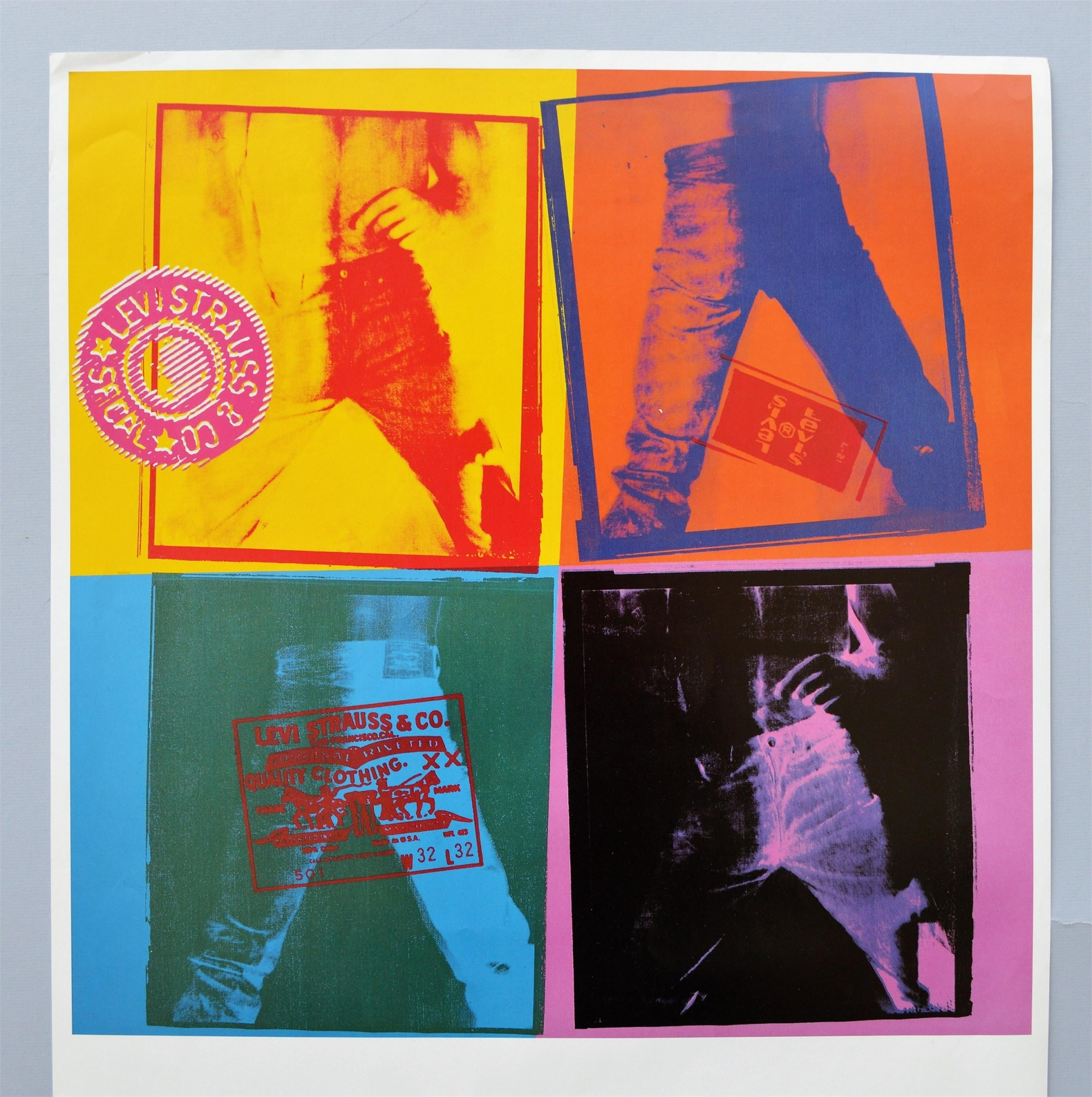Levi's 501 Jeans by Andy Warhol