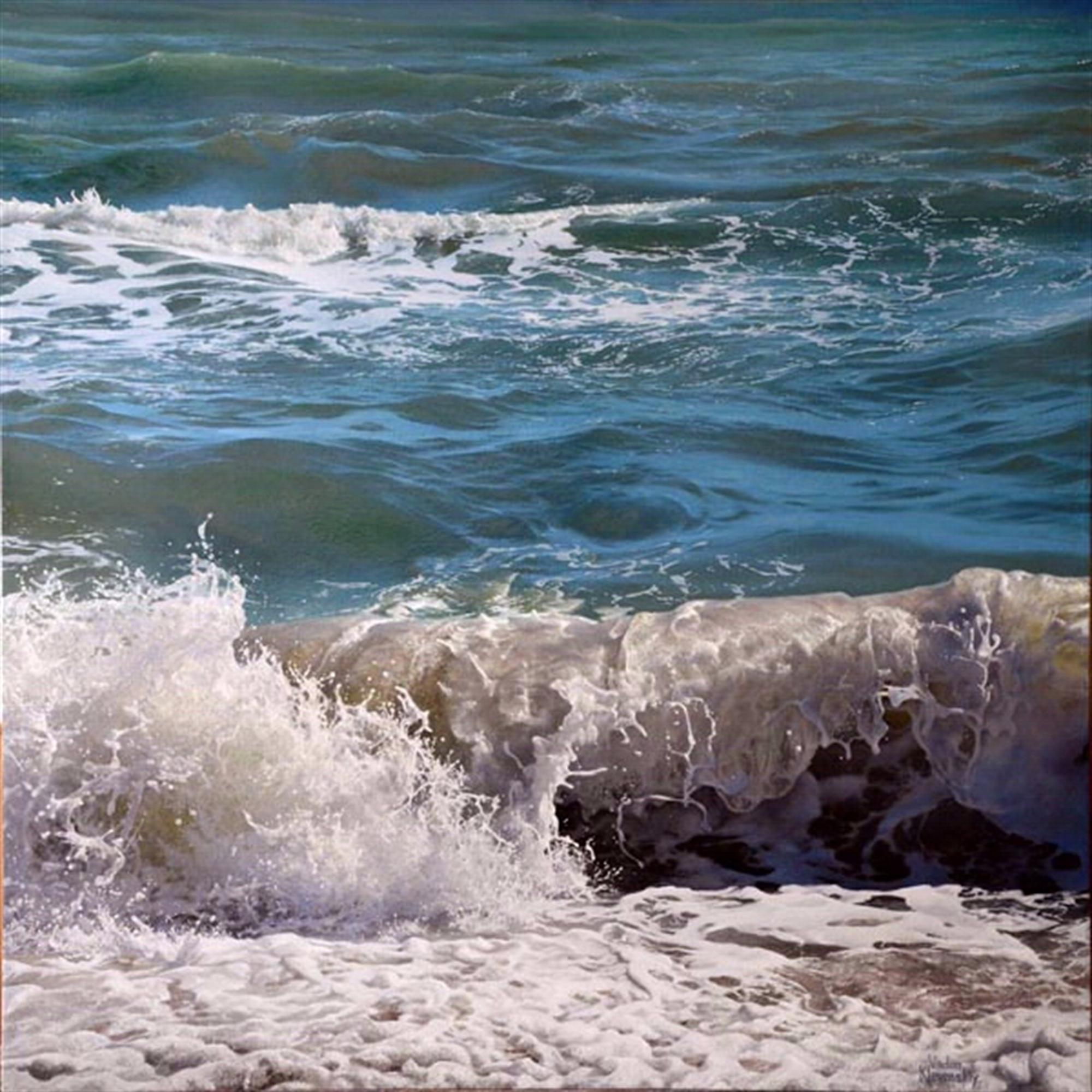 Breaking Waves by Vadim Klevenskiy