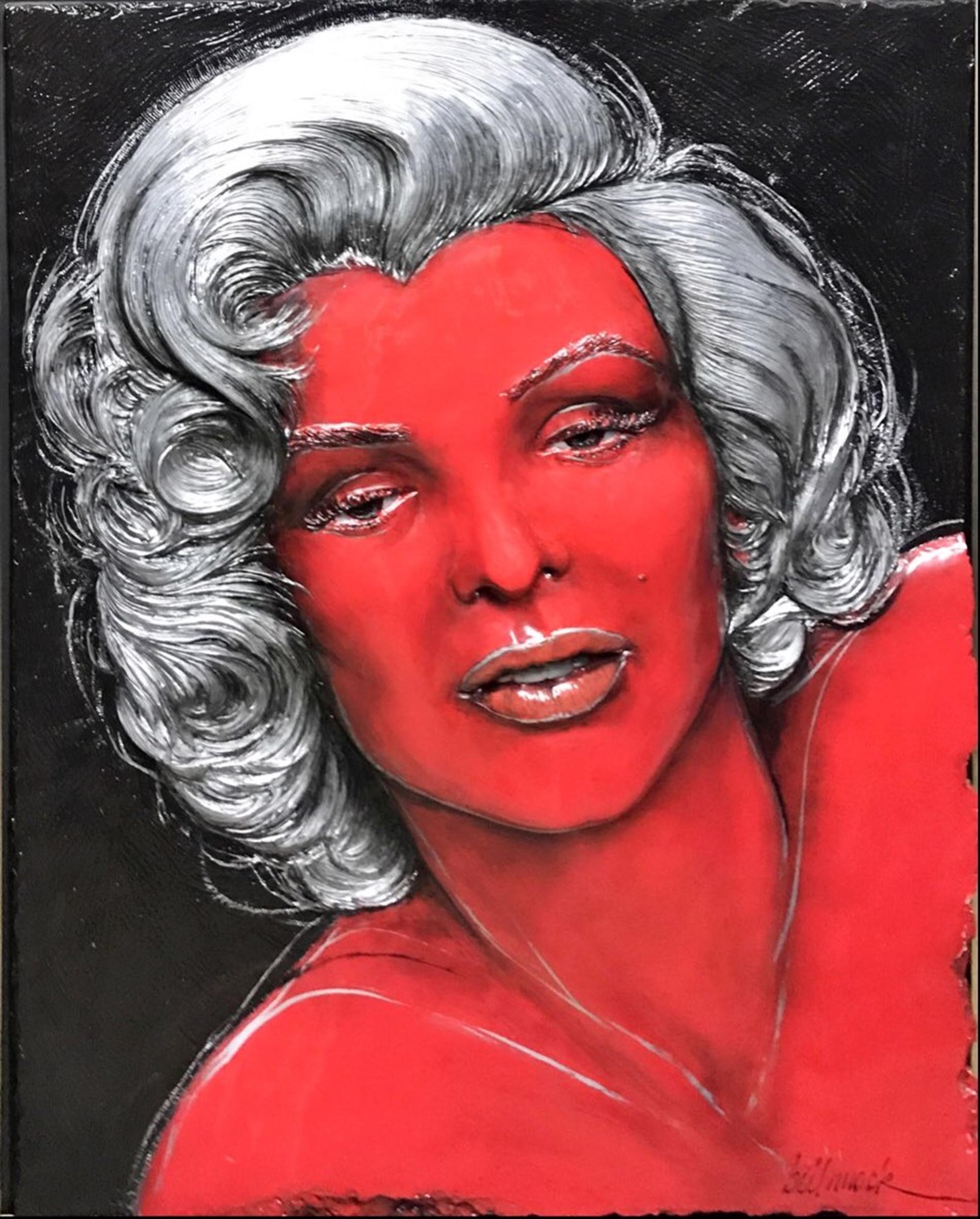 Warhol Red Marilyn by Bill Mack