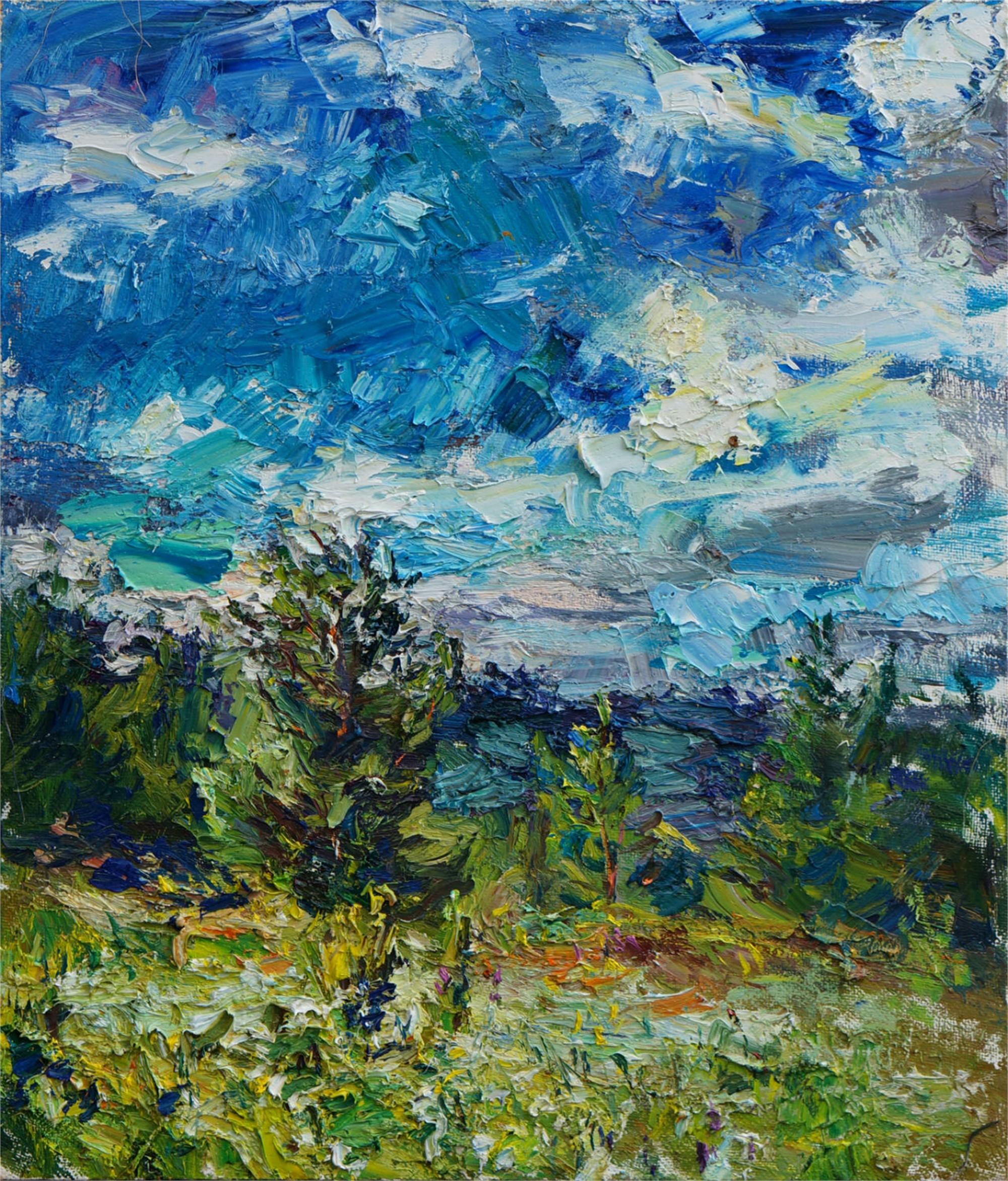 Blue Skies (in the Urals) by Ulrich Gleiter