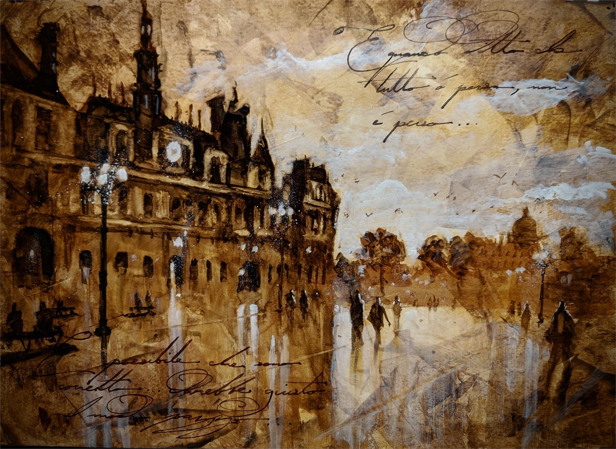 Sepia Tone, Paris by Christopher Clark
