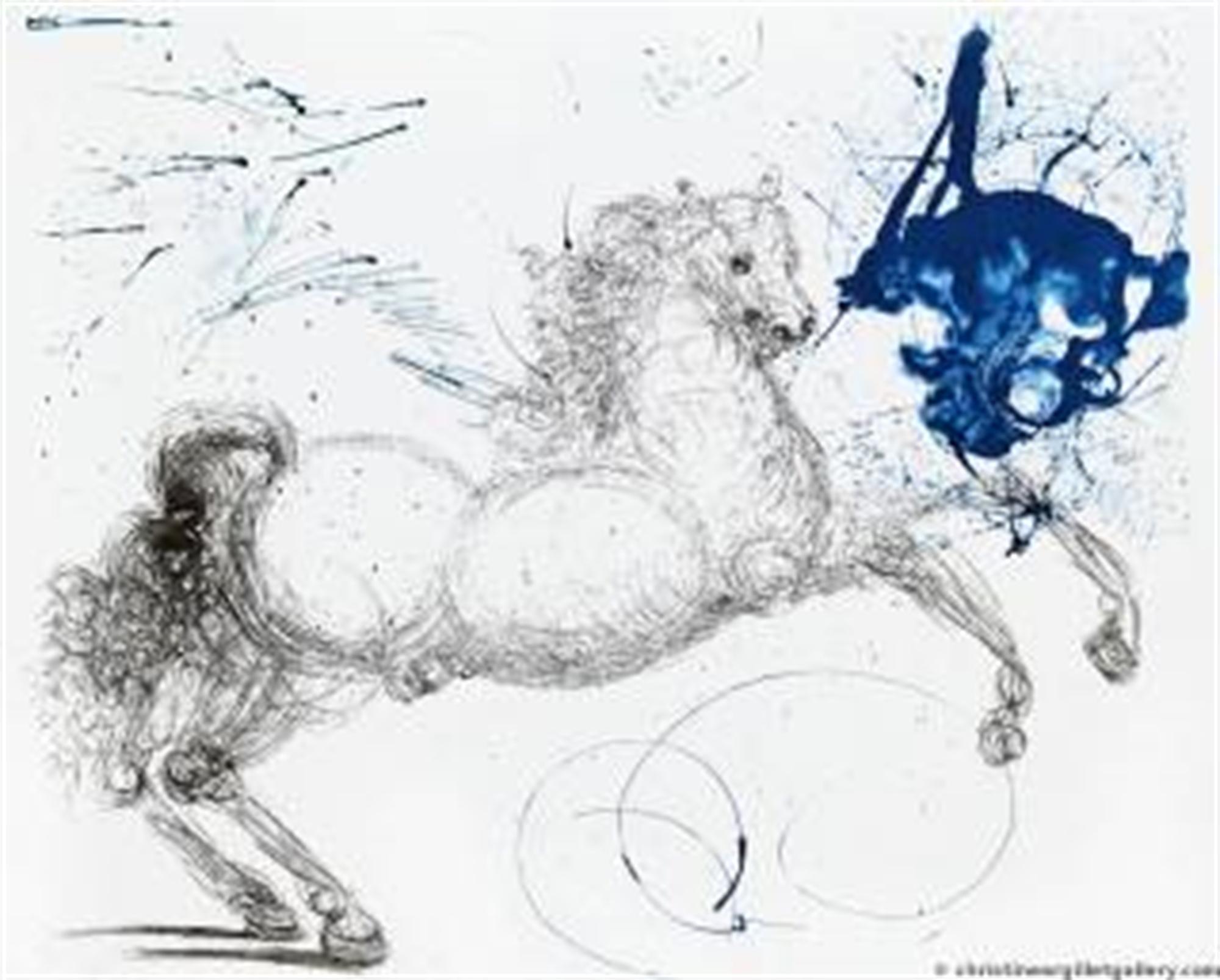 "Mythology ""Pegasus"" by Salvador Dali"
