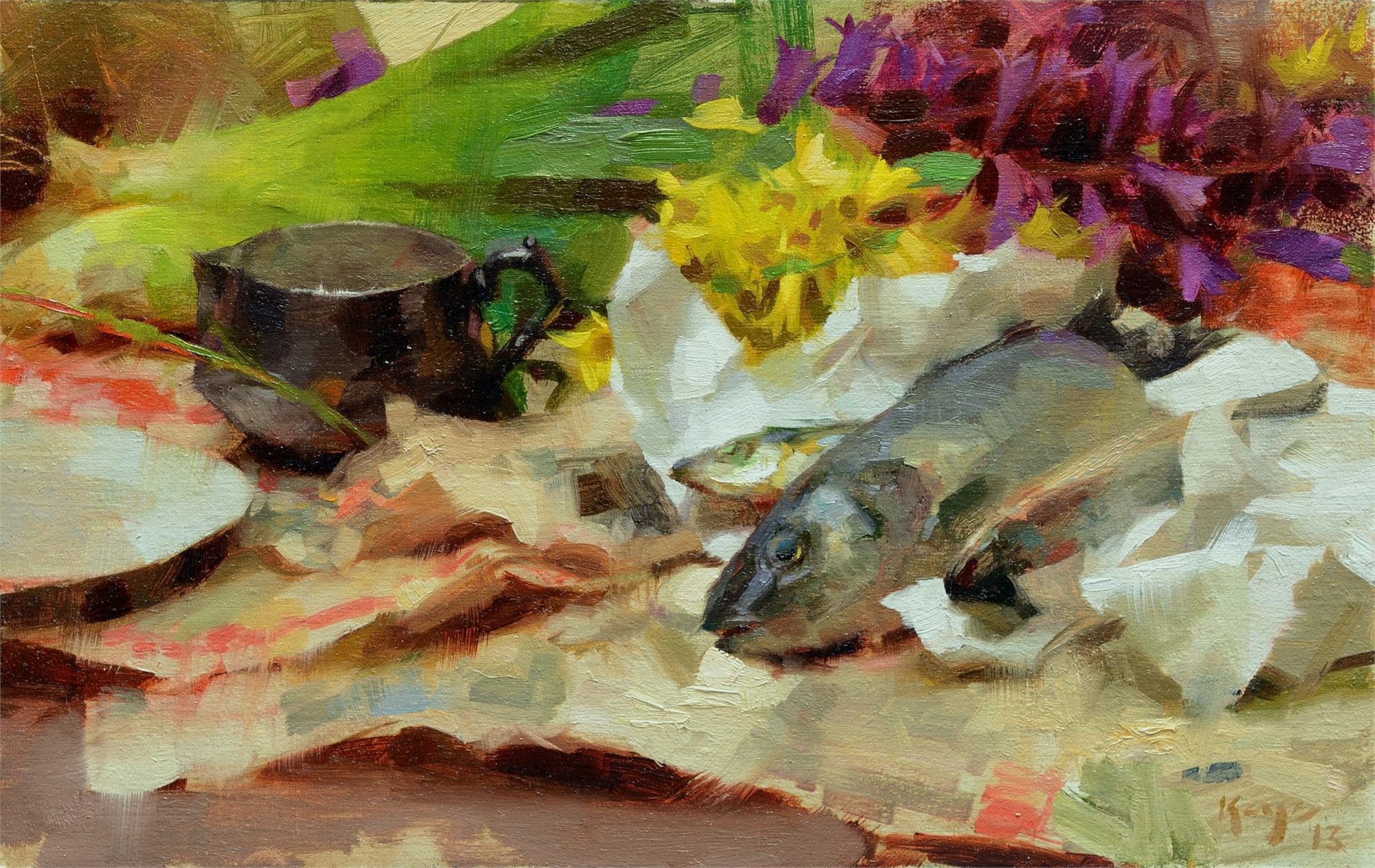 Fish Still Life by Daniel Keys