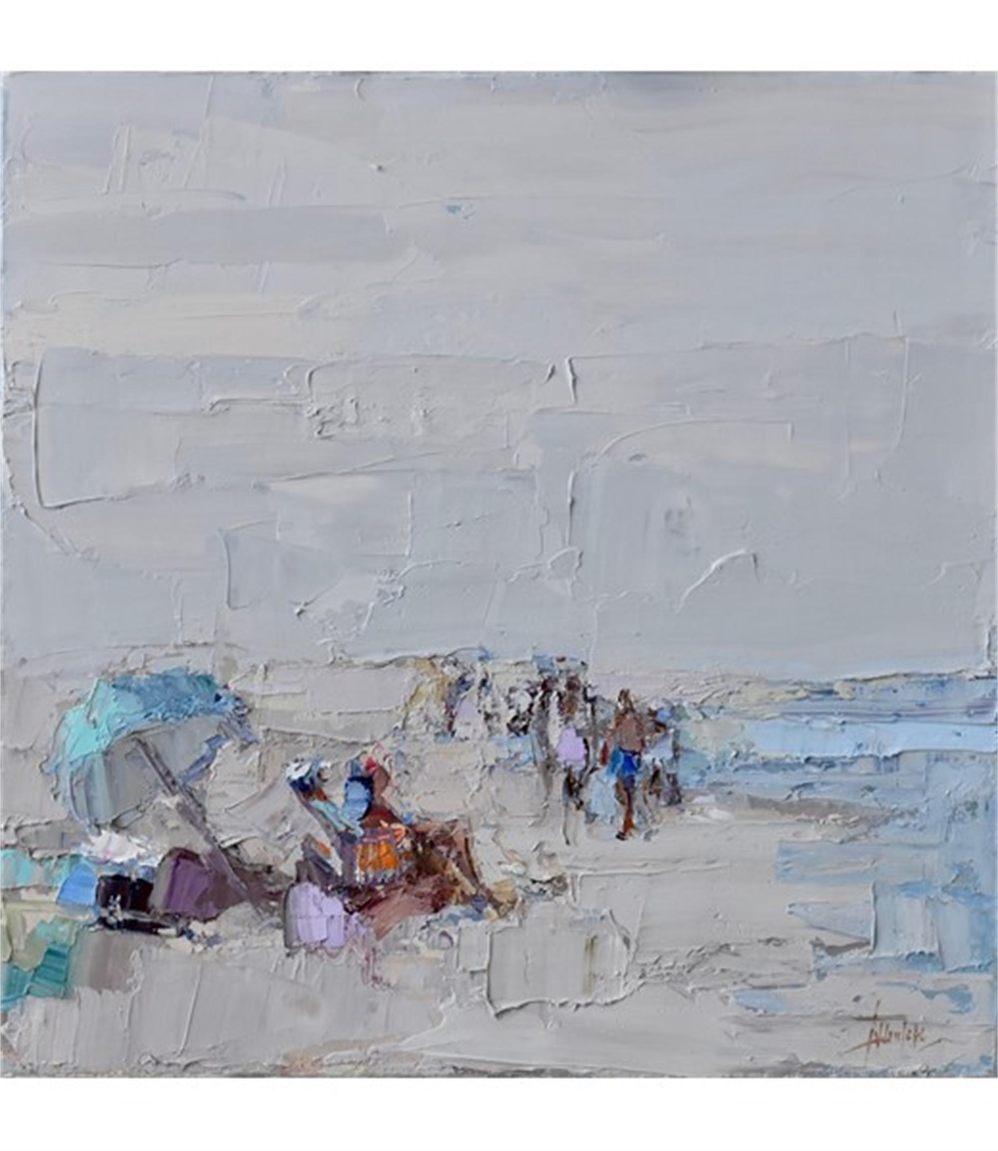 Beach I by Barbara Flowers