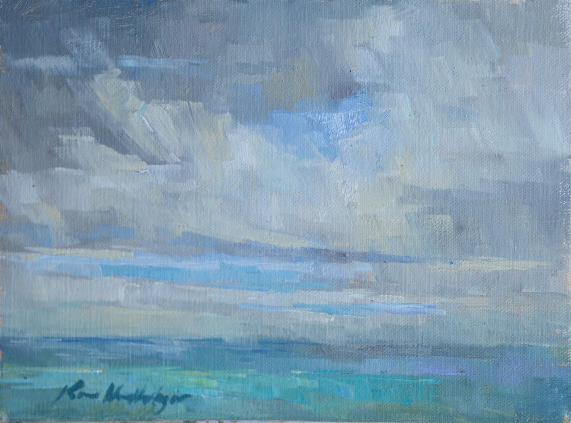 East Point Storm Coming In by Karen Hewitt Hagan