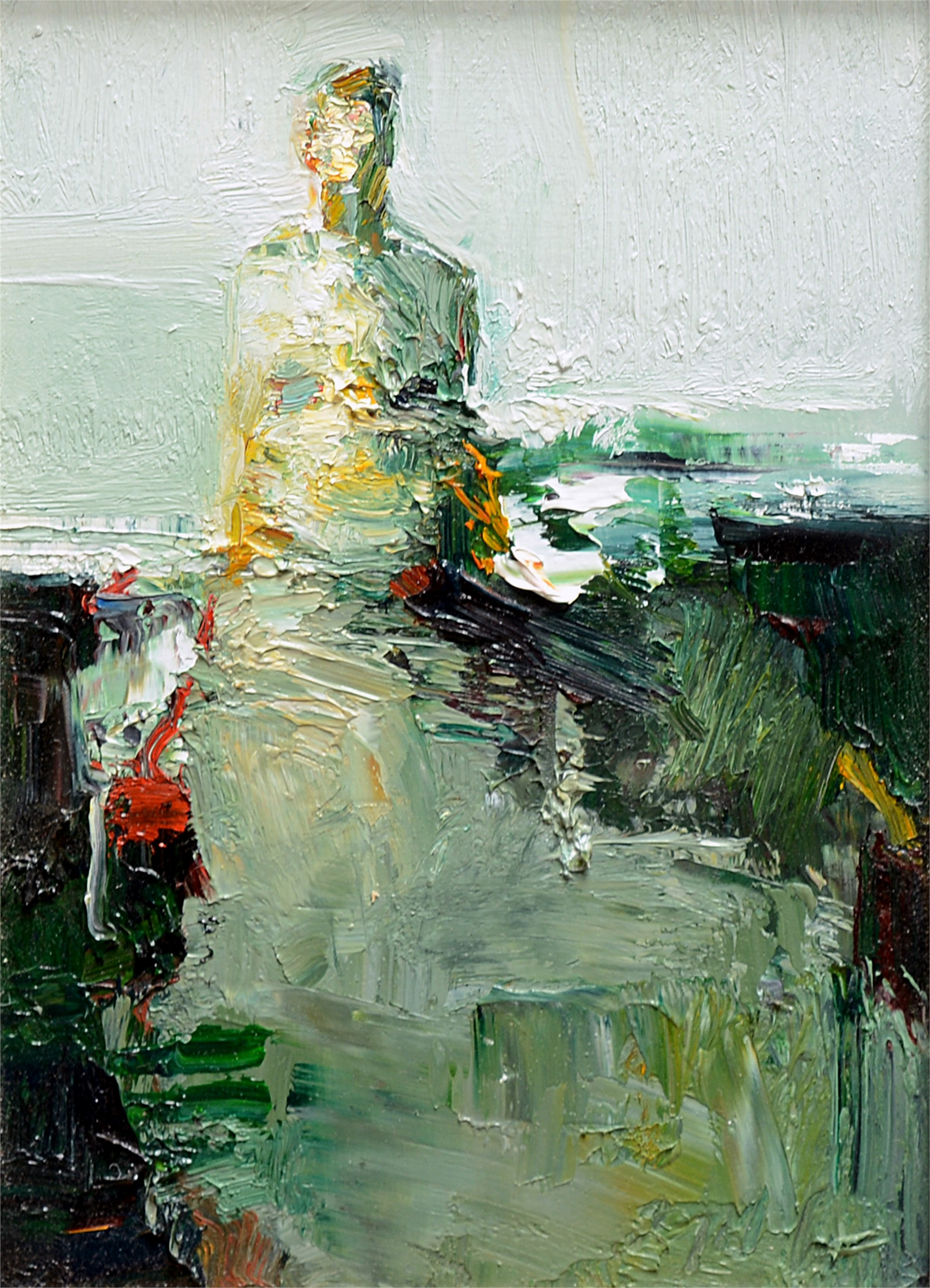 Woman in Dress by Danny McCaw