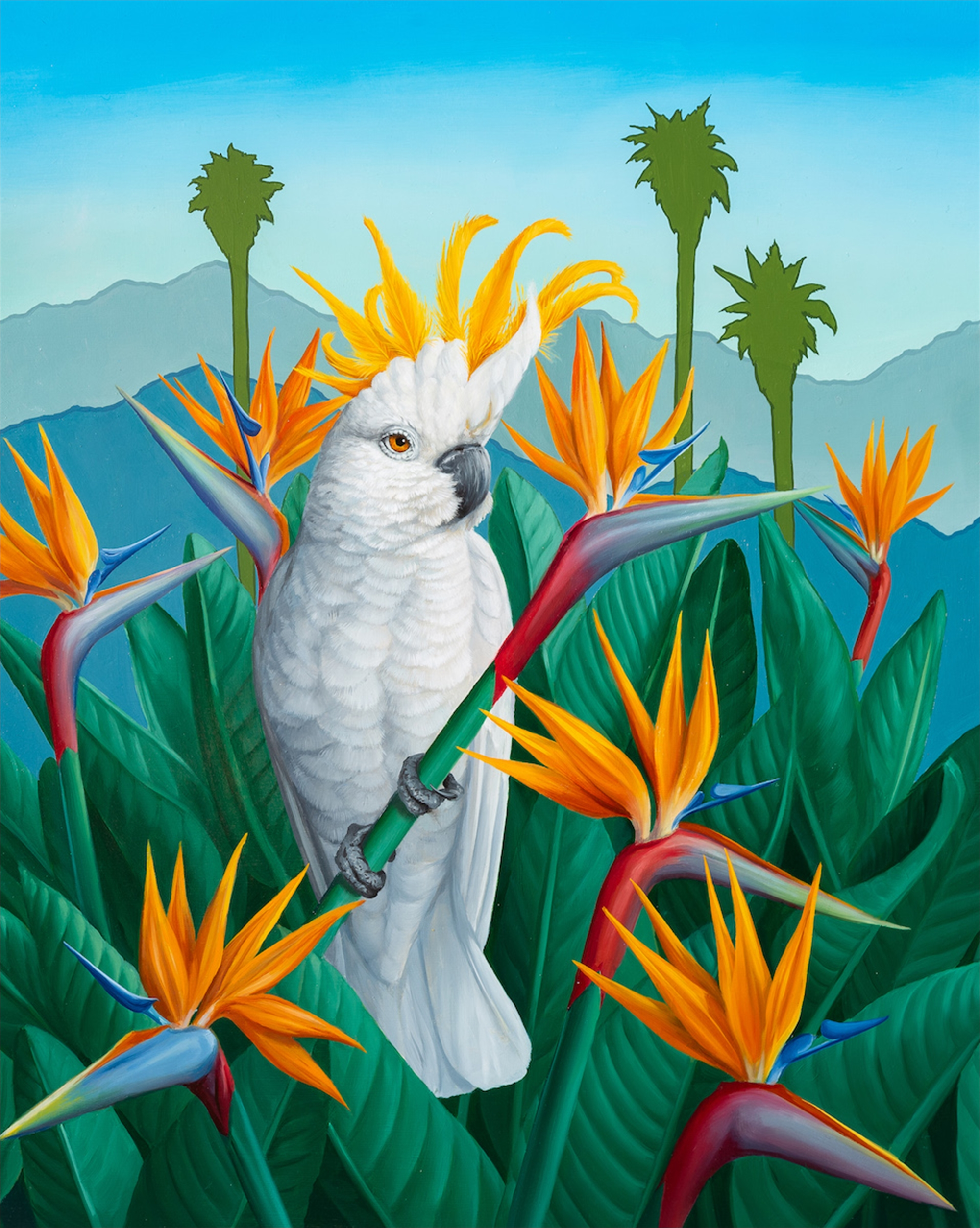 Bird in Paradise by Jon Ching