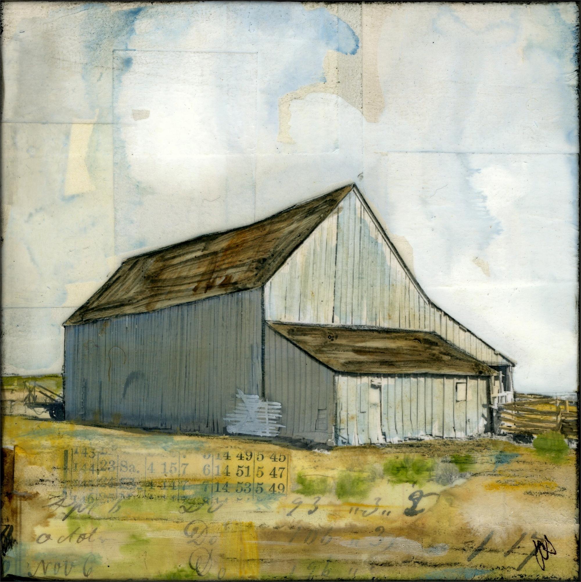 Western Barn III by JC Spock