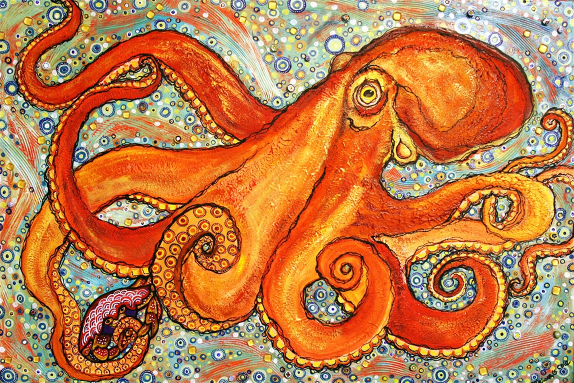 Kraken Snack by Melissa Cole