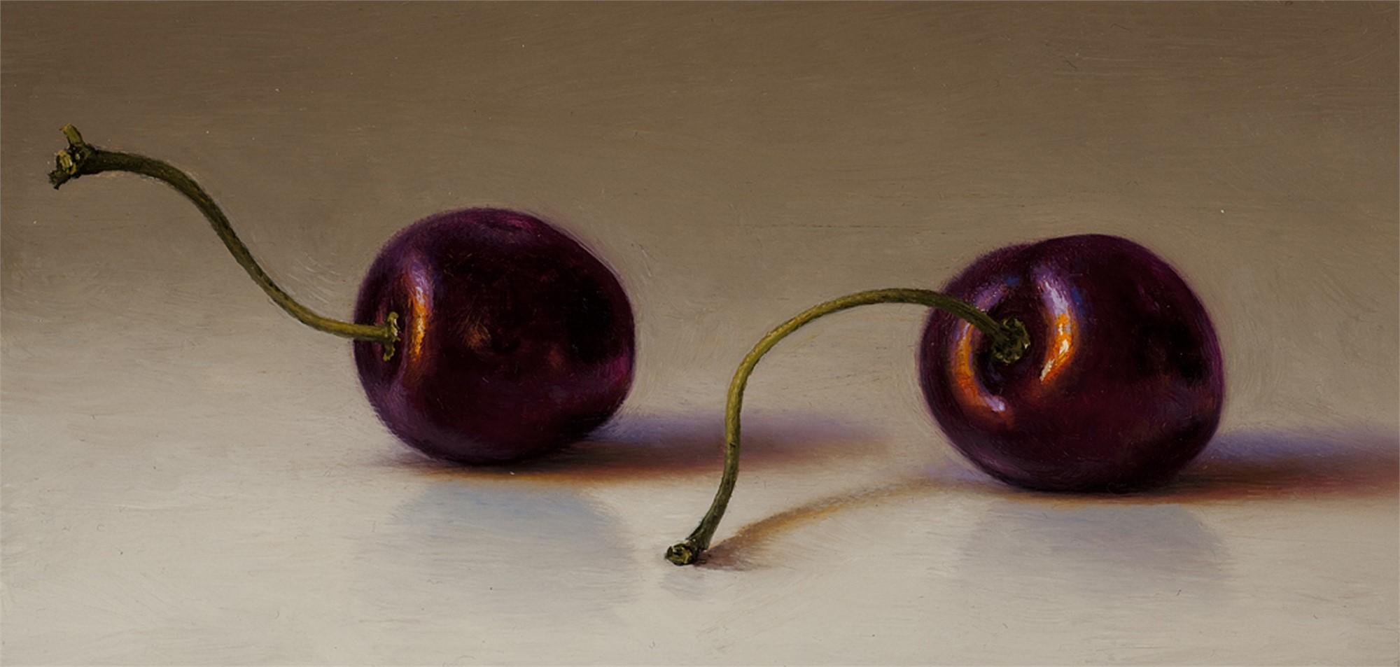 Two Bing Cherries by Scott Fraser