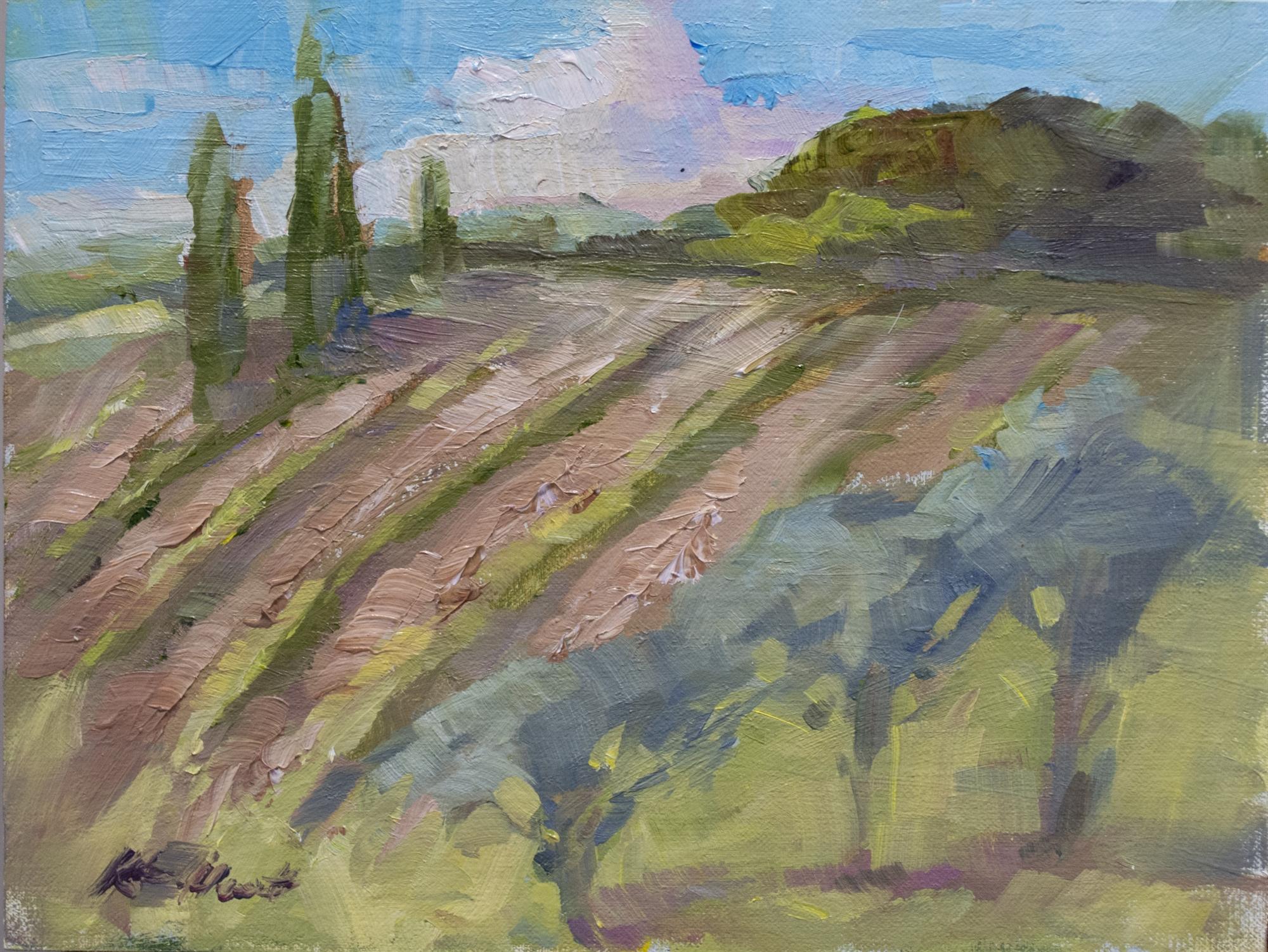 Up the Hill at the Contessa by Karen Hewitt Hagan