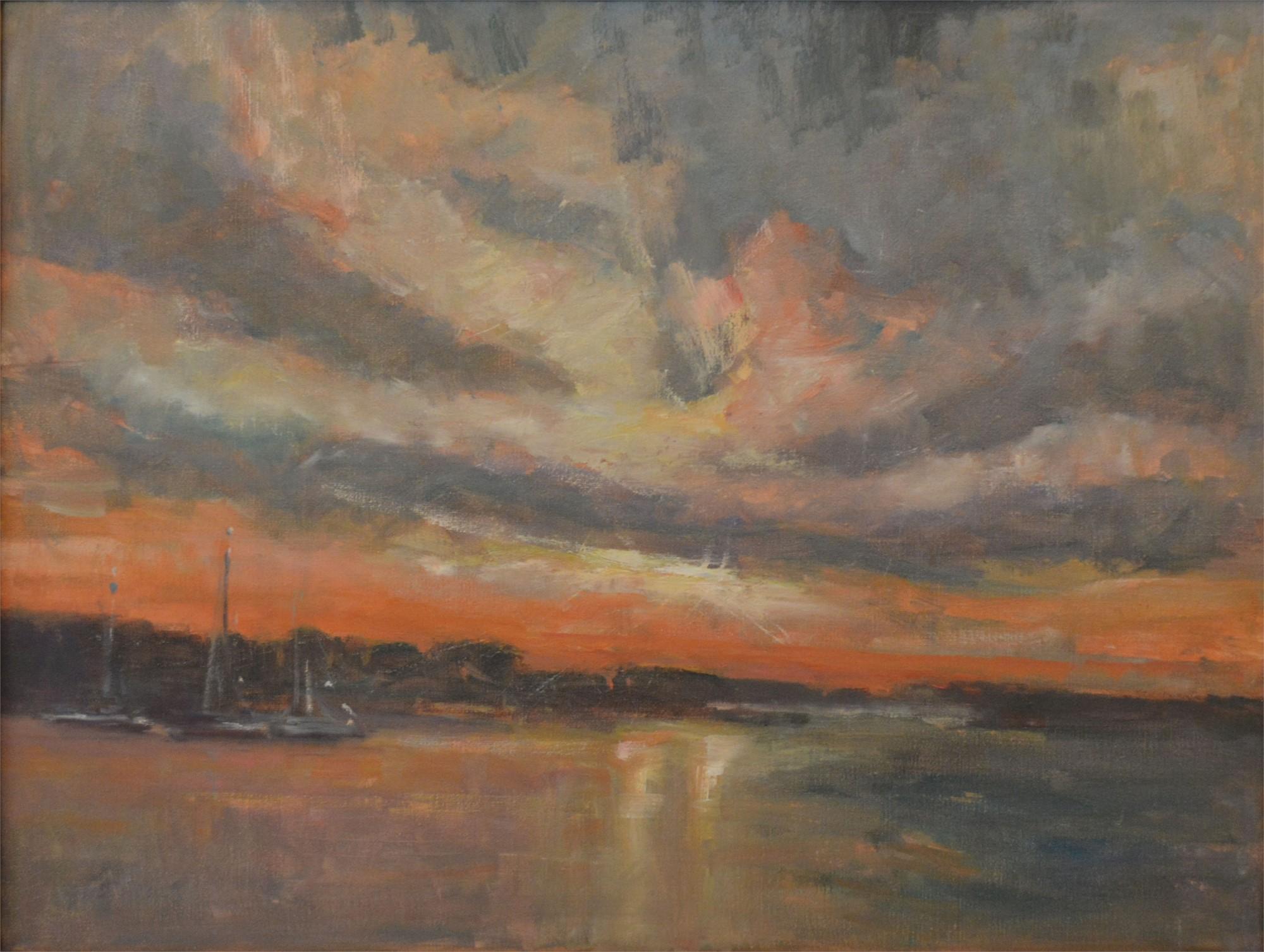 Early Light on the Harbor by Karen Hewitt Hagan