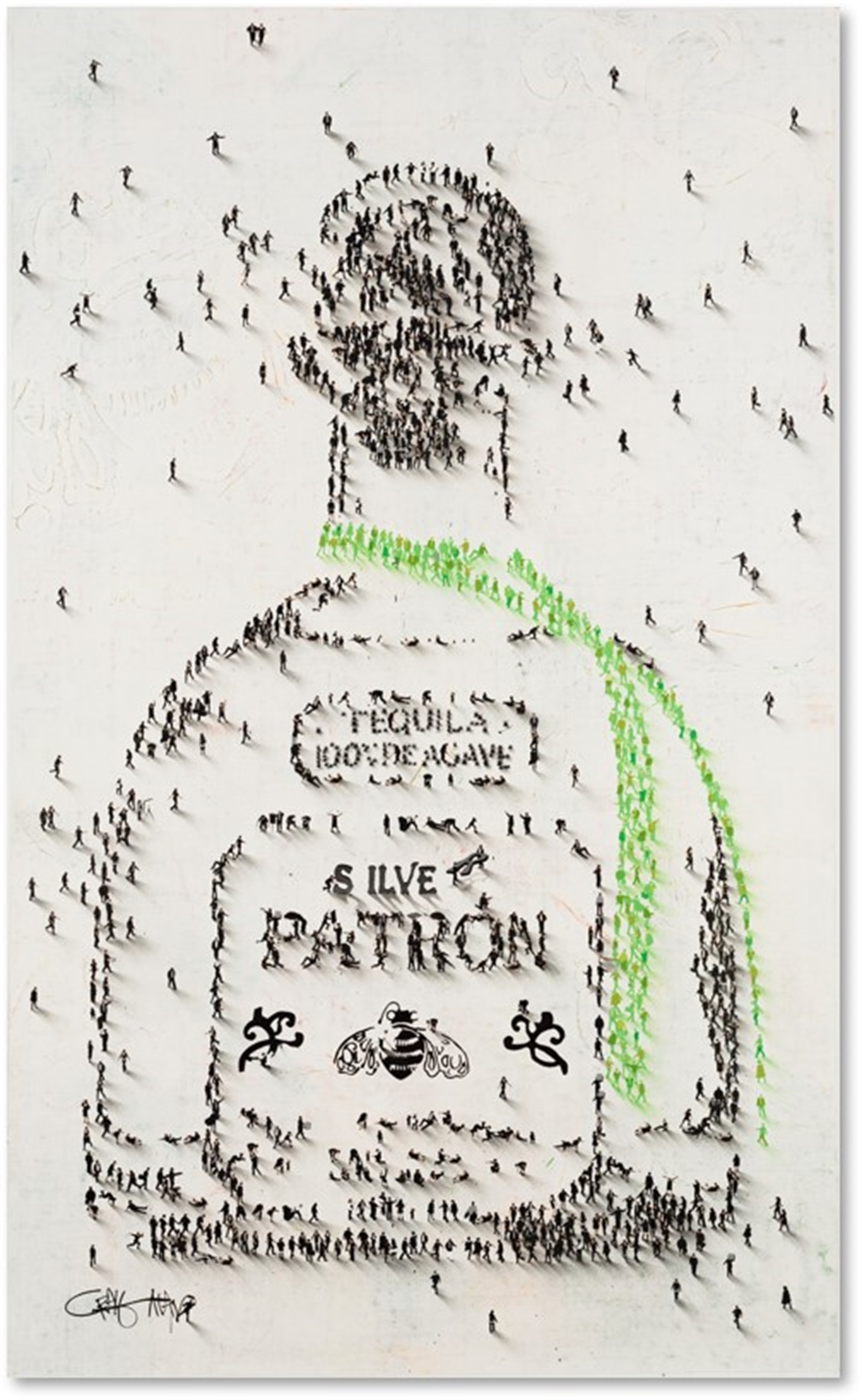 Patron (SOLD) by Populus Commission Craig Alan