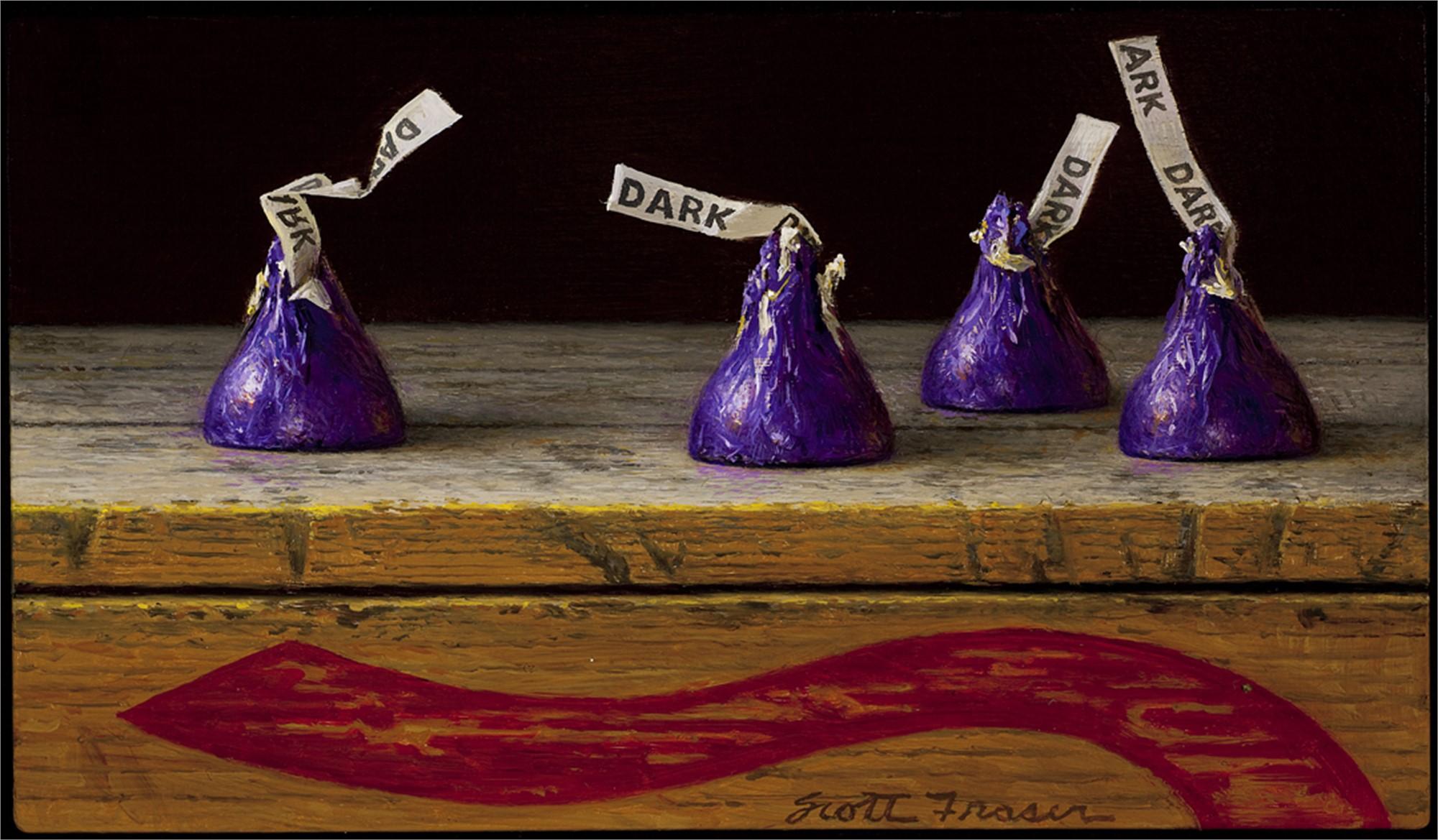 Purple Kisses by Scott Fraser