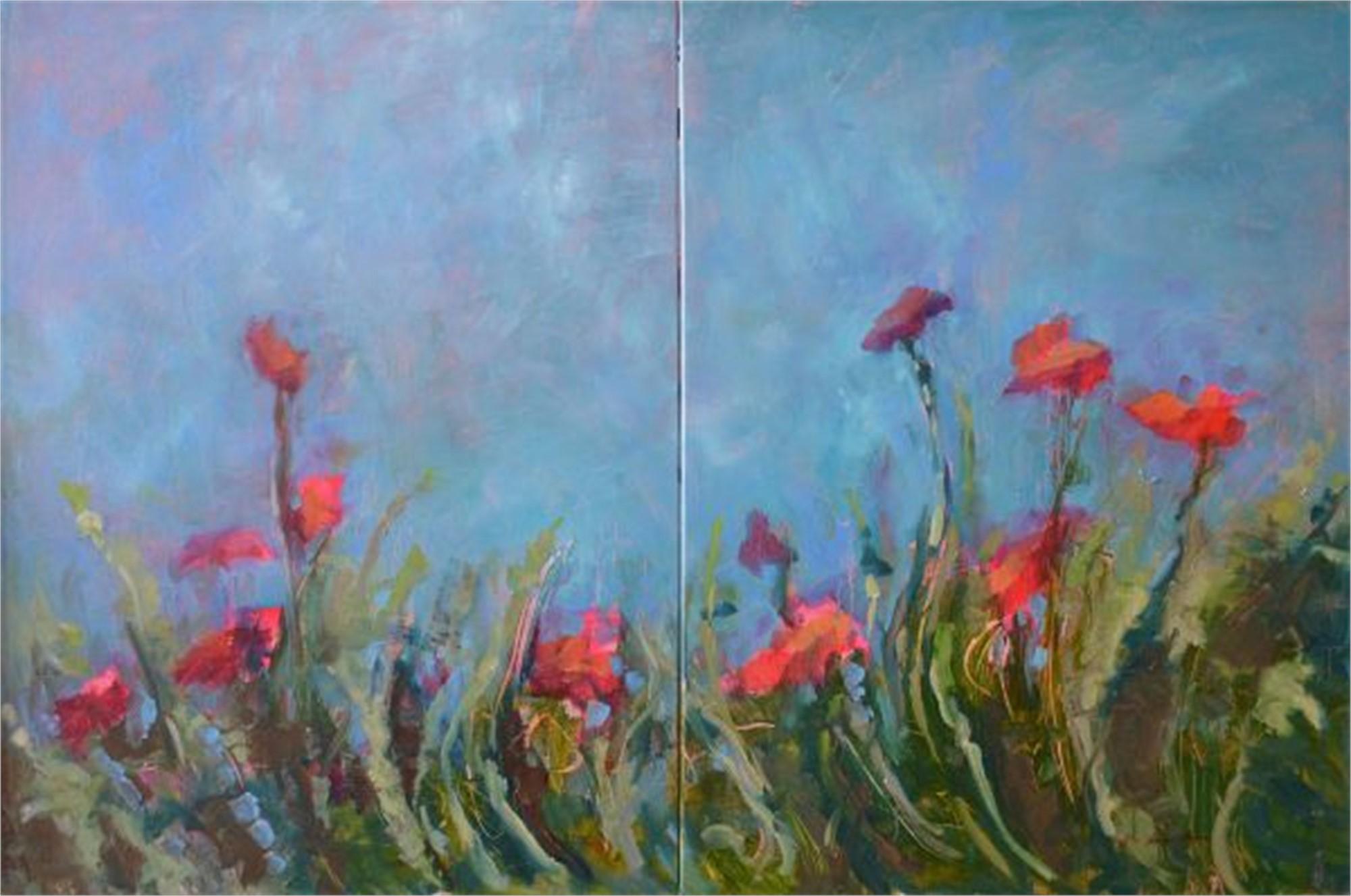 Beauty Will See You Through (Diptych) by Karen Hewitt Hagan