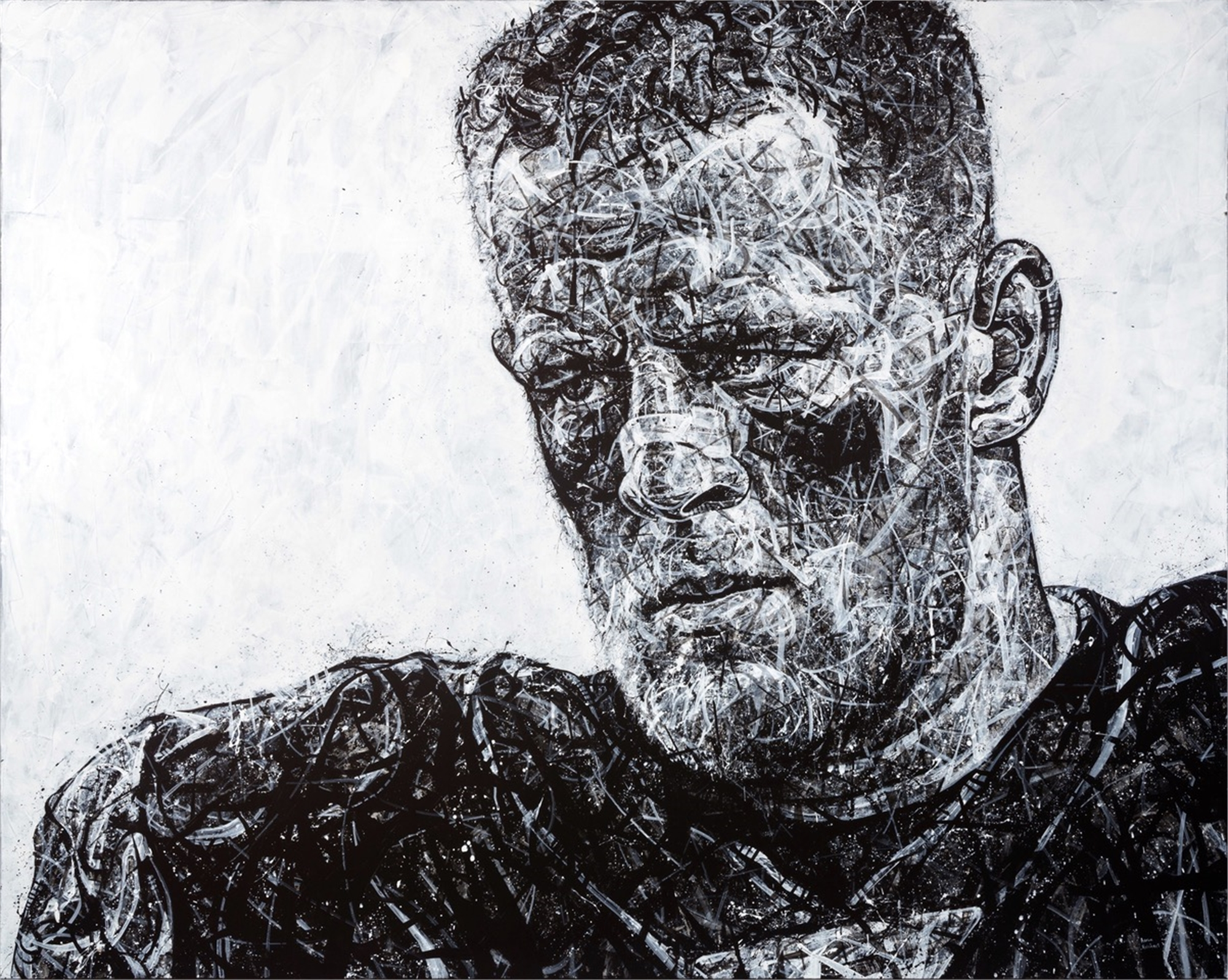 Football - JJ Watt by Aaron Reichert