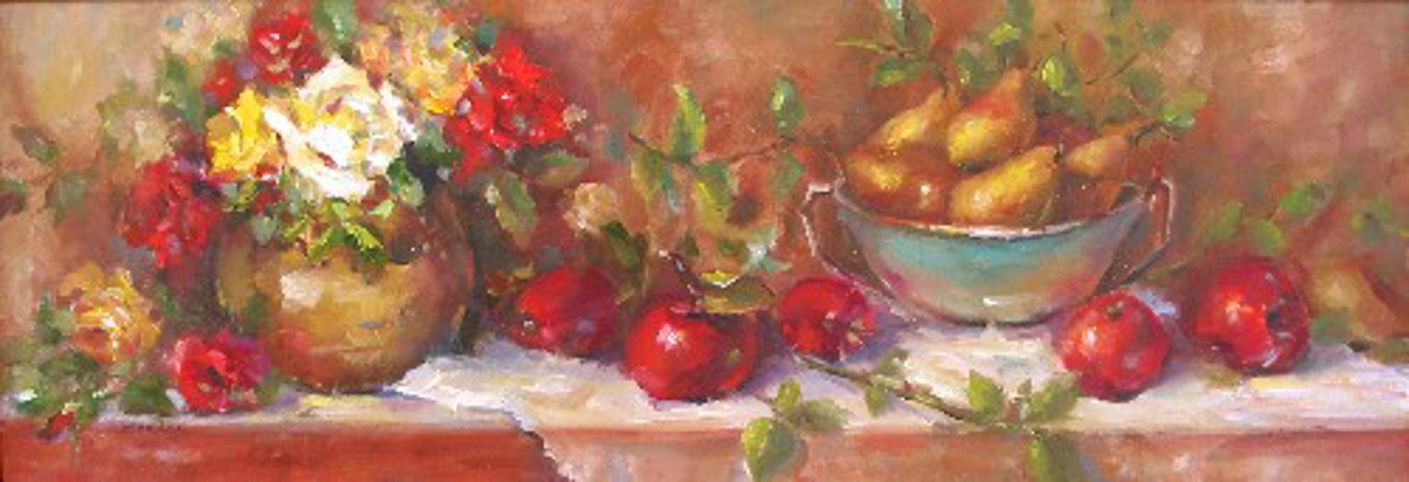 ROSES AND PEARS by JOY