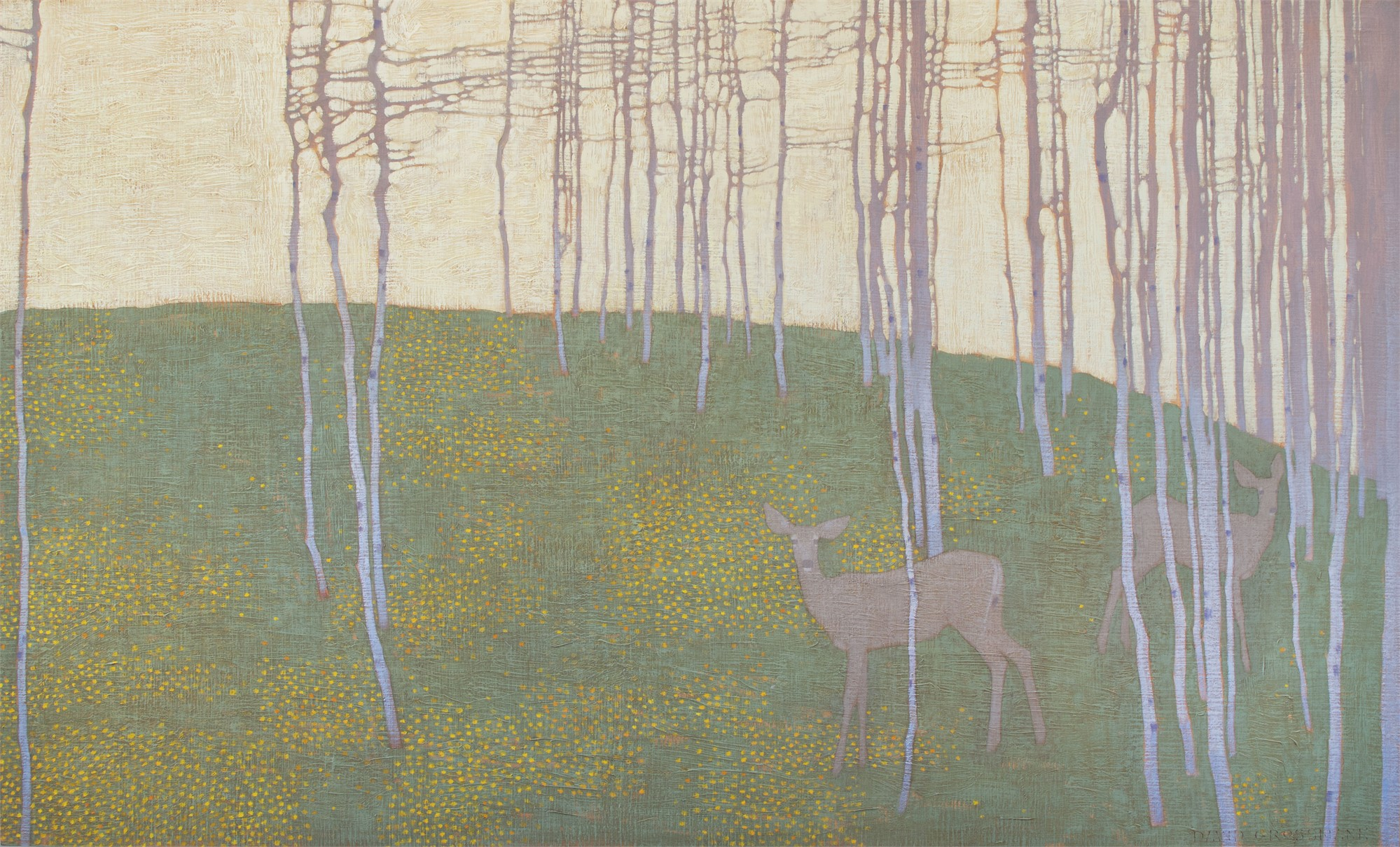 Summer Forest Patterns by David Grossmann