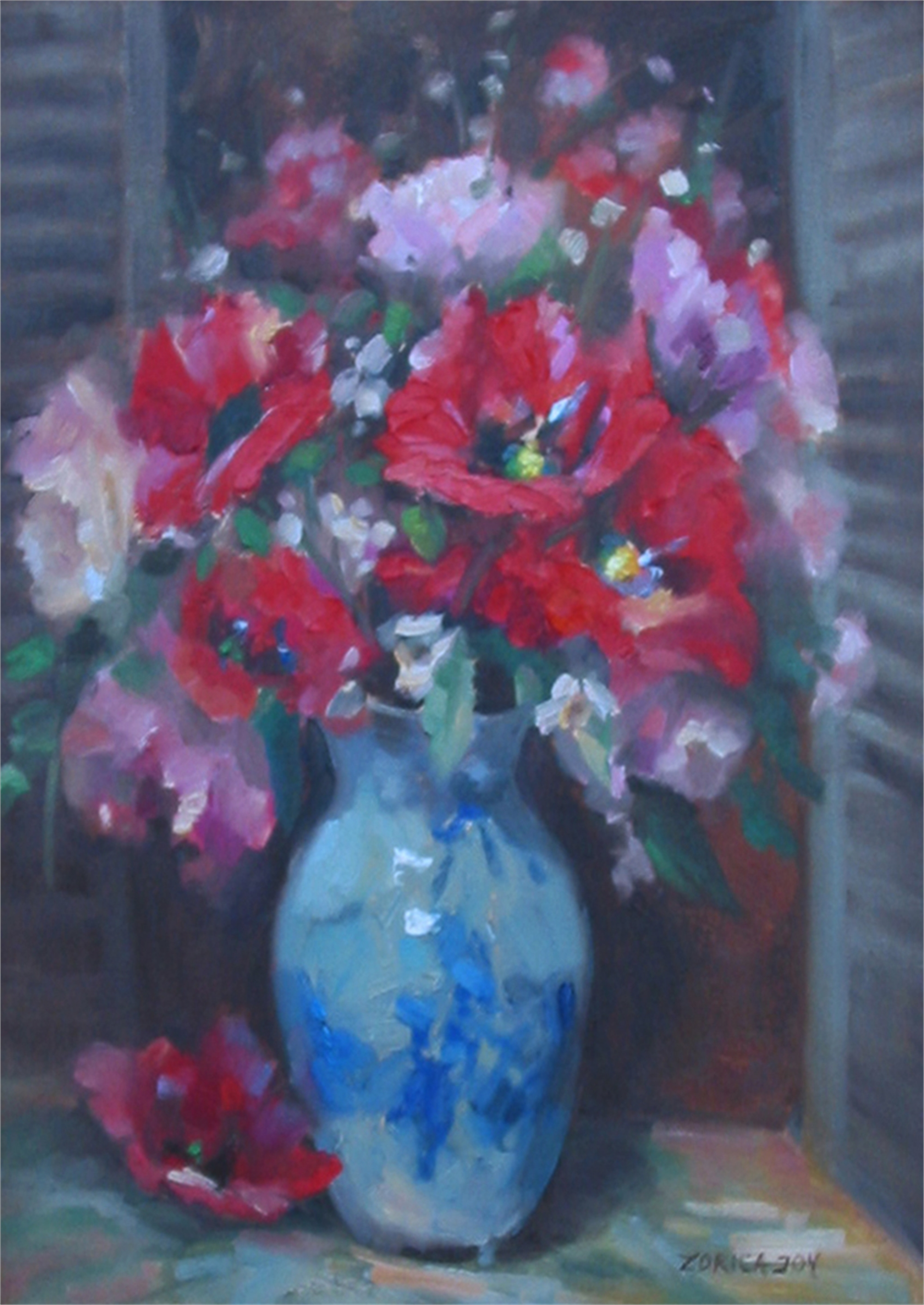 POPPIES, POPPIES by JOY